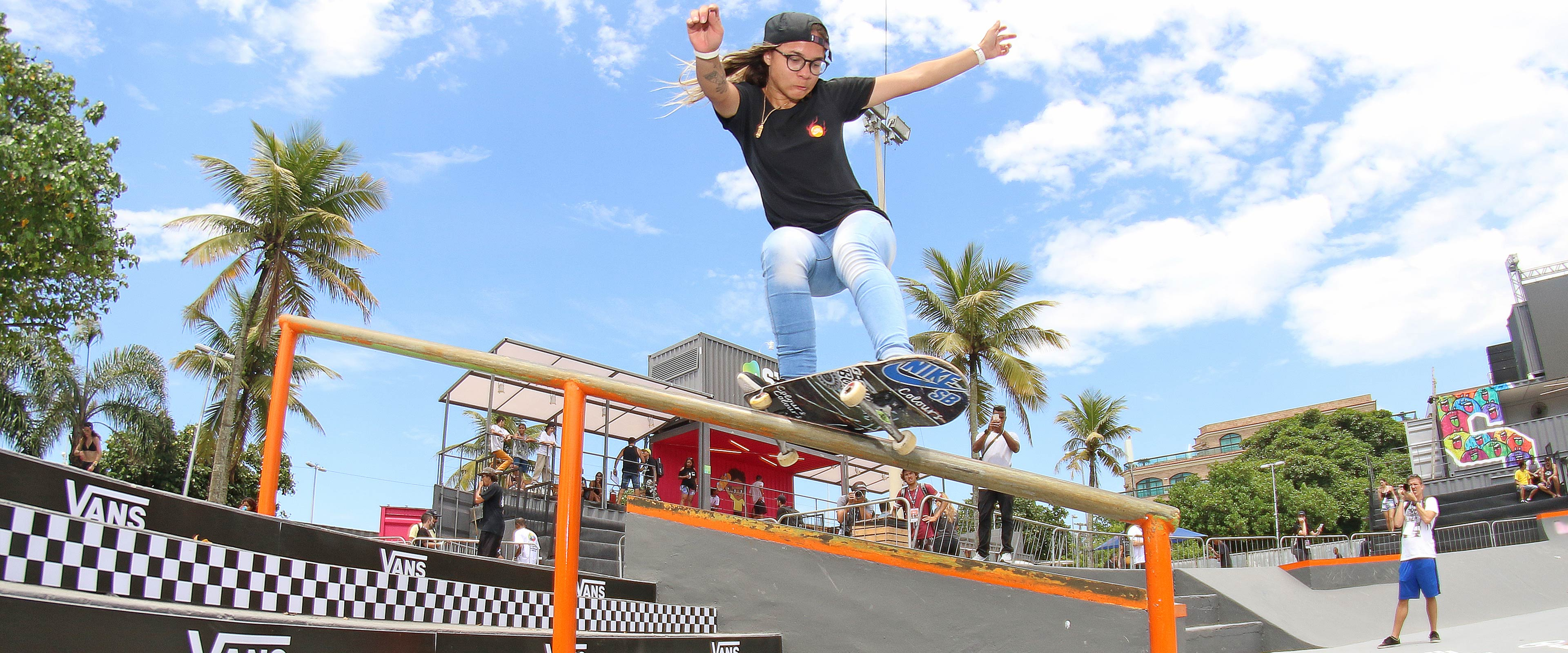 On the road to Tokyo with skateboarding pioneer Pamela Rosa