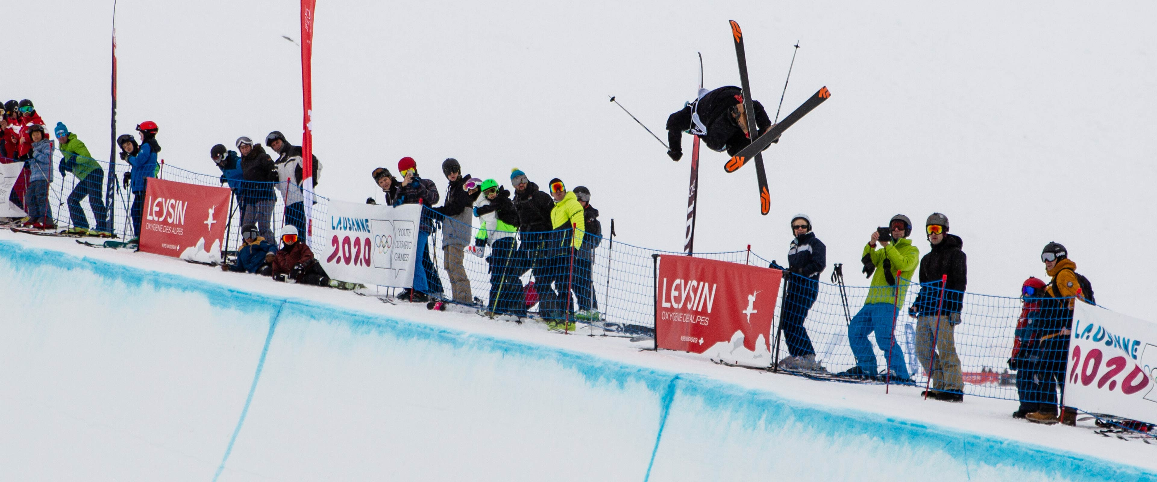Freestyle Skiing At The 2020 Olympic Winter Games.Olympic Channel Will Present 300 Hours Of Lausanne 2020