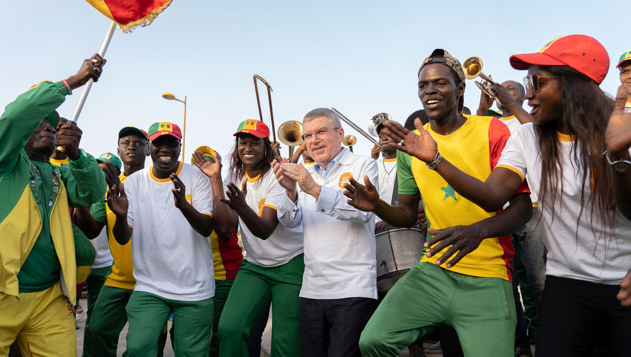 IOC President in Senegal on second day of African tour