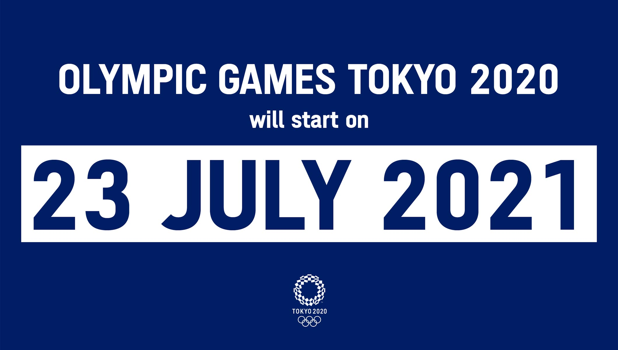 IOC, IPC, Tokyo 2020 Organising Committee and Tokyo Metropolitan Government announce new dates for the Olympic and Paralympic Games Tokyo 2020 thumbnail