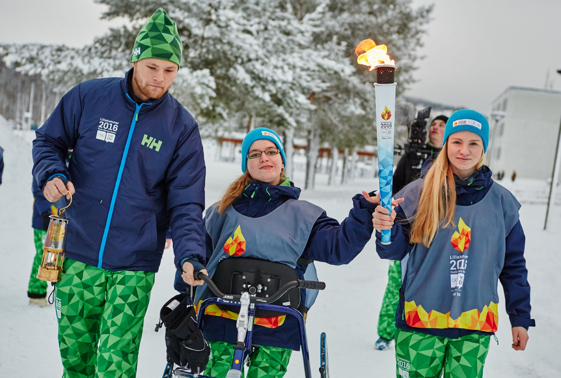 Steinkjer - Youth Olympic Torch Tour