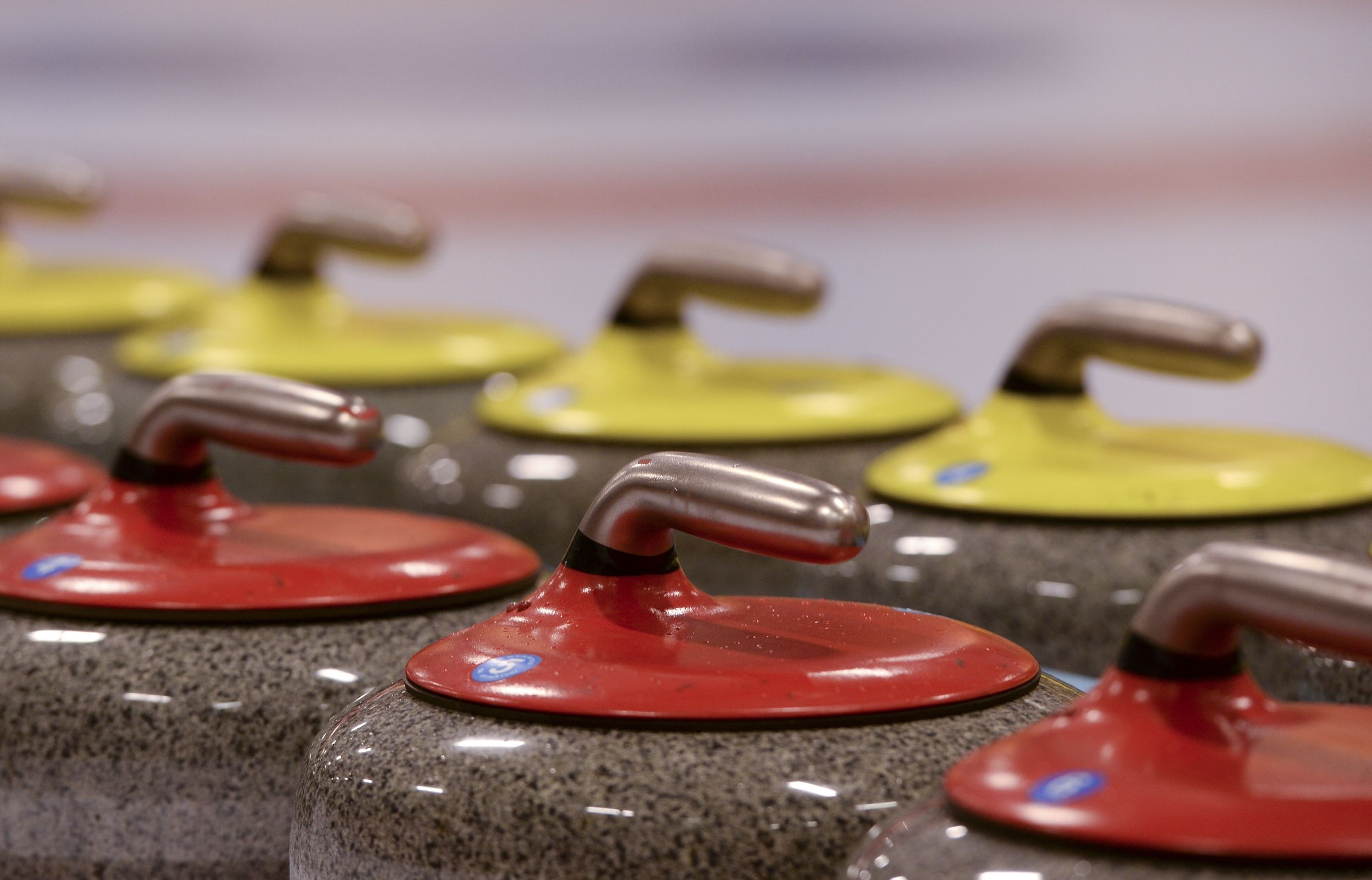 Curling Training session