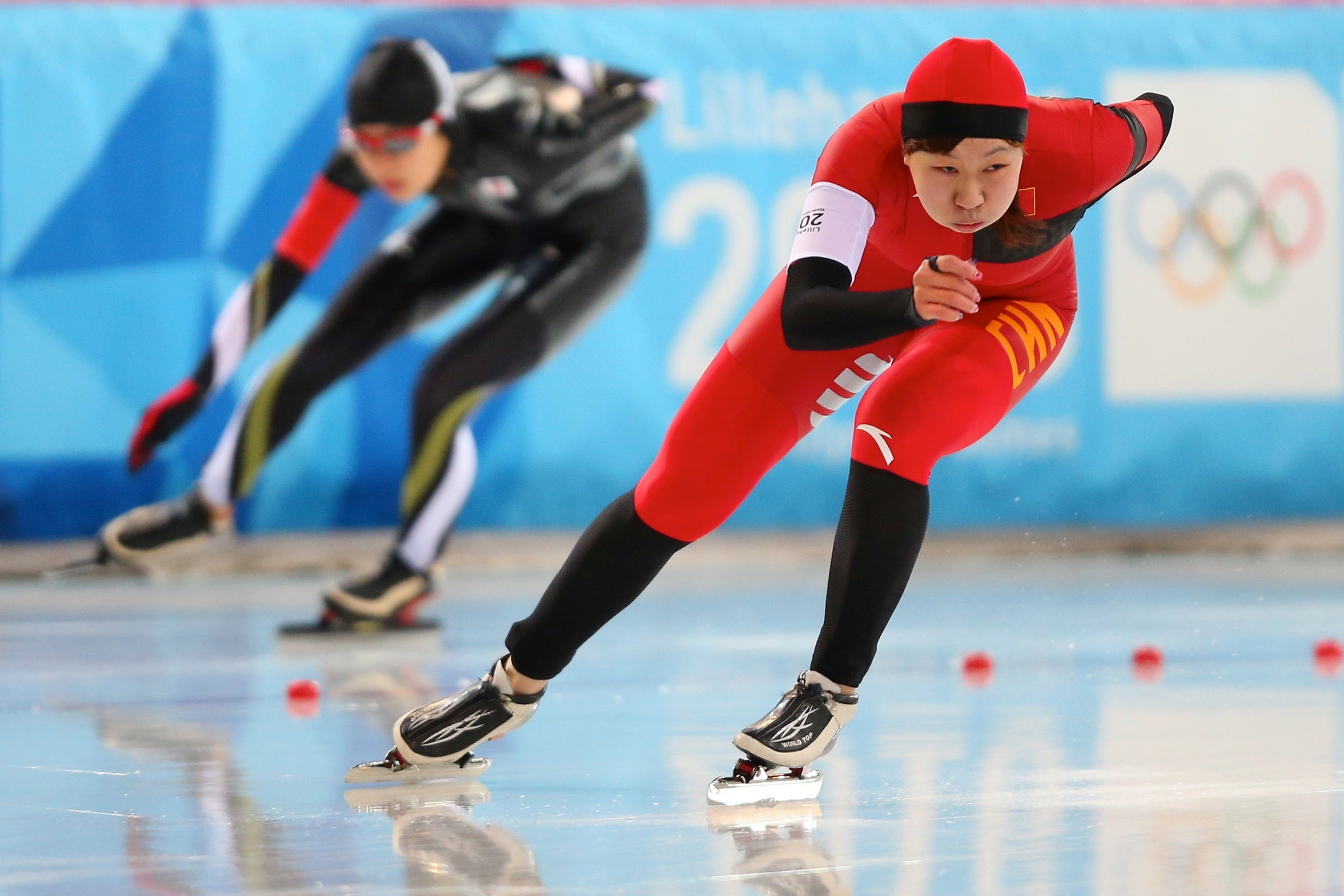 Patinage de vitesse - 500m dames