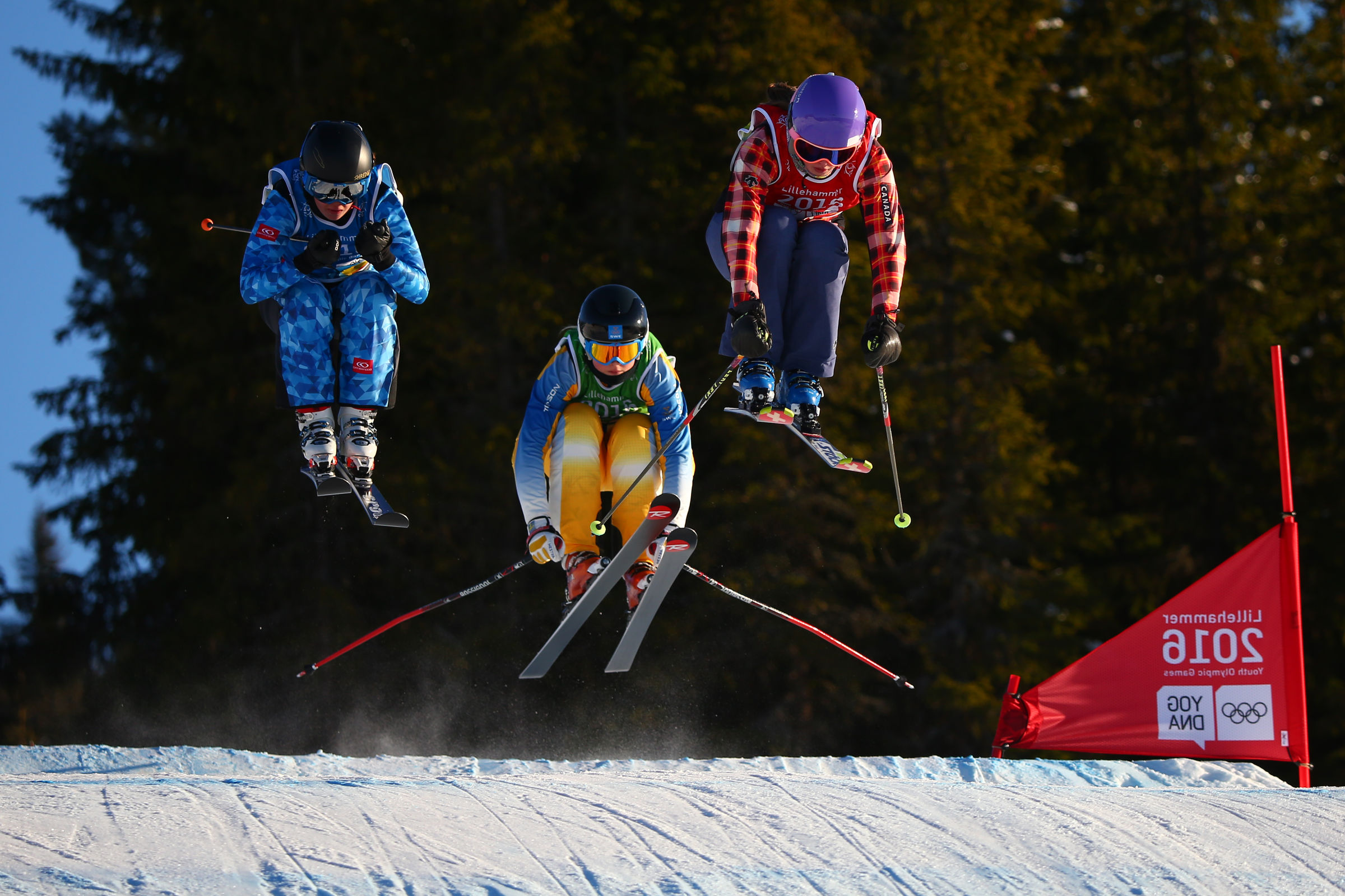 Ski acrobatique - ski cross dames