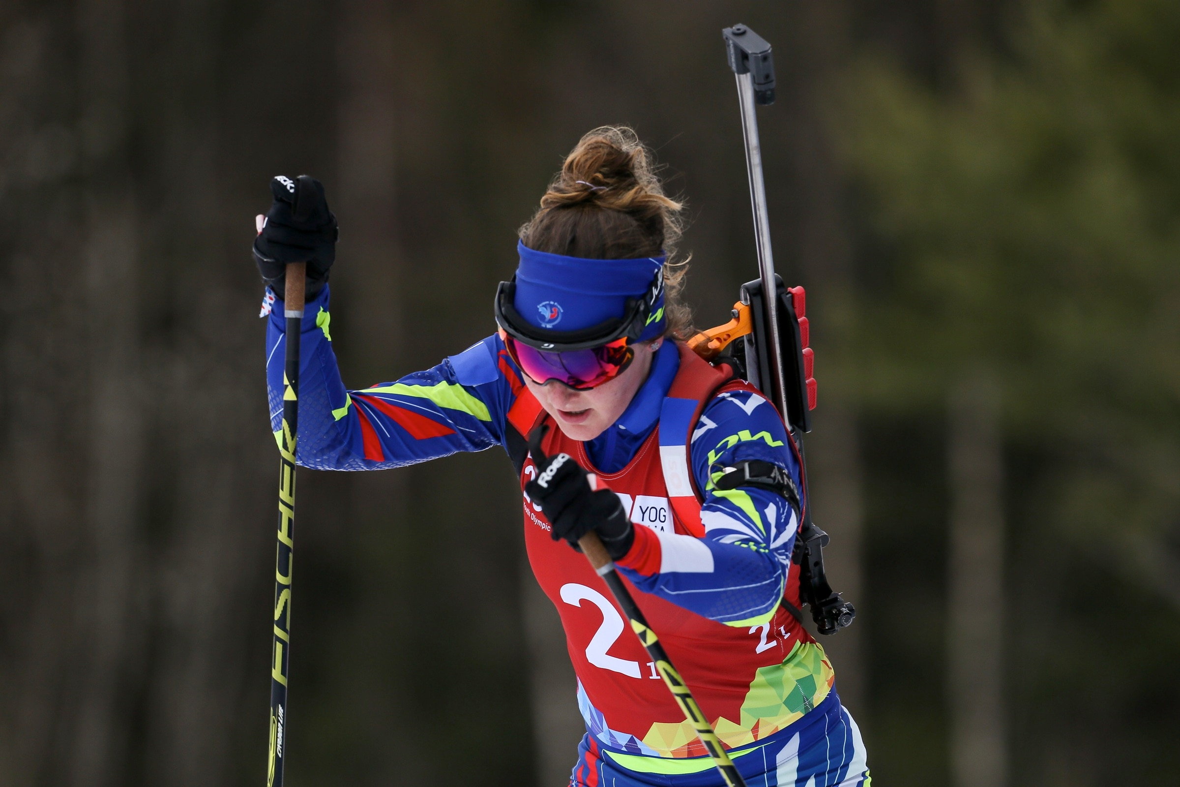 Biathlon - relais mixte simple