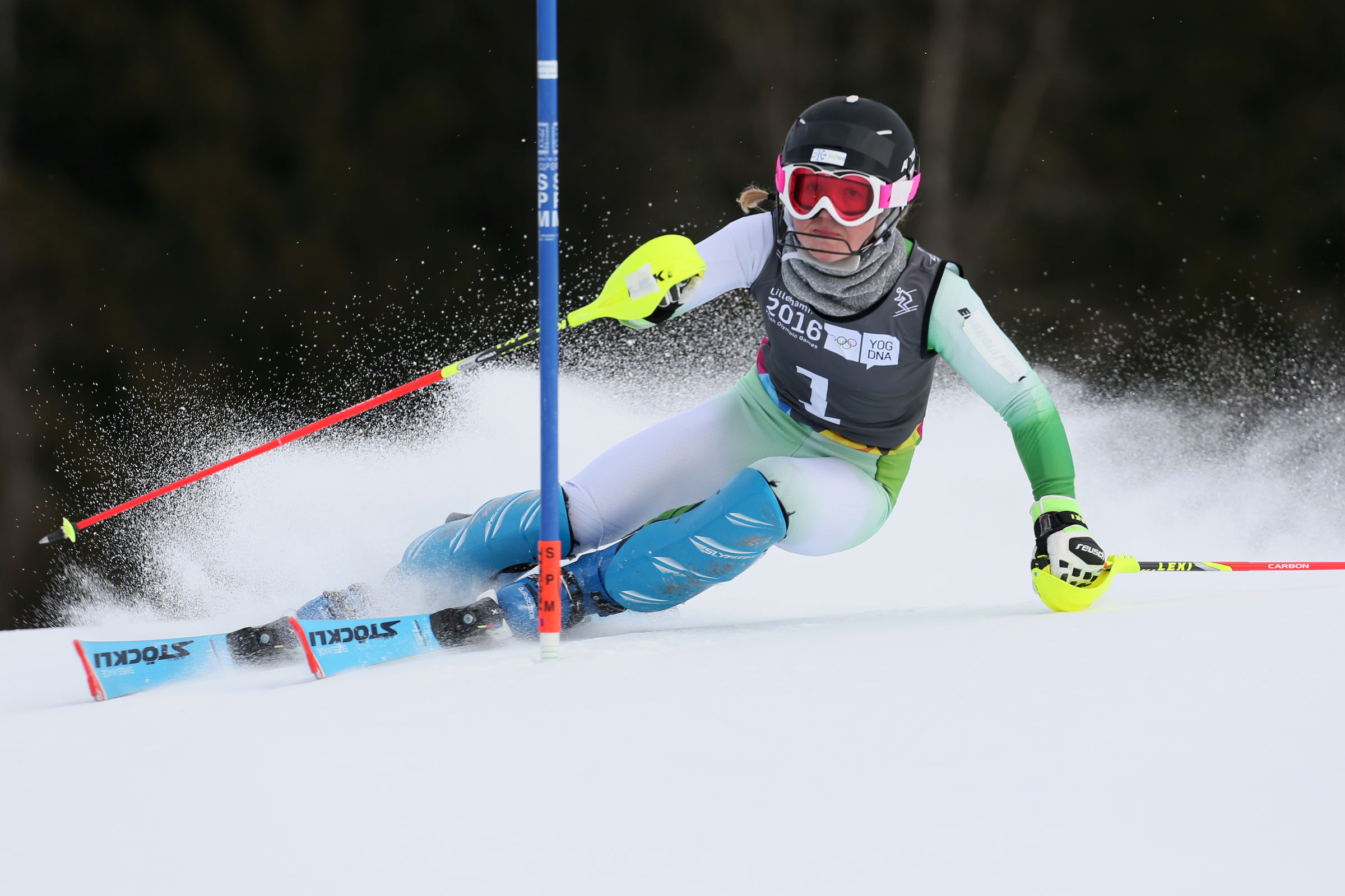 Alpine Skiing Ladies Slalom