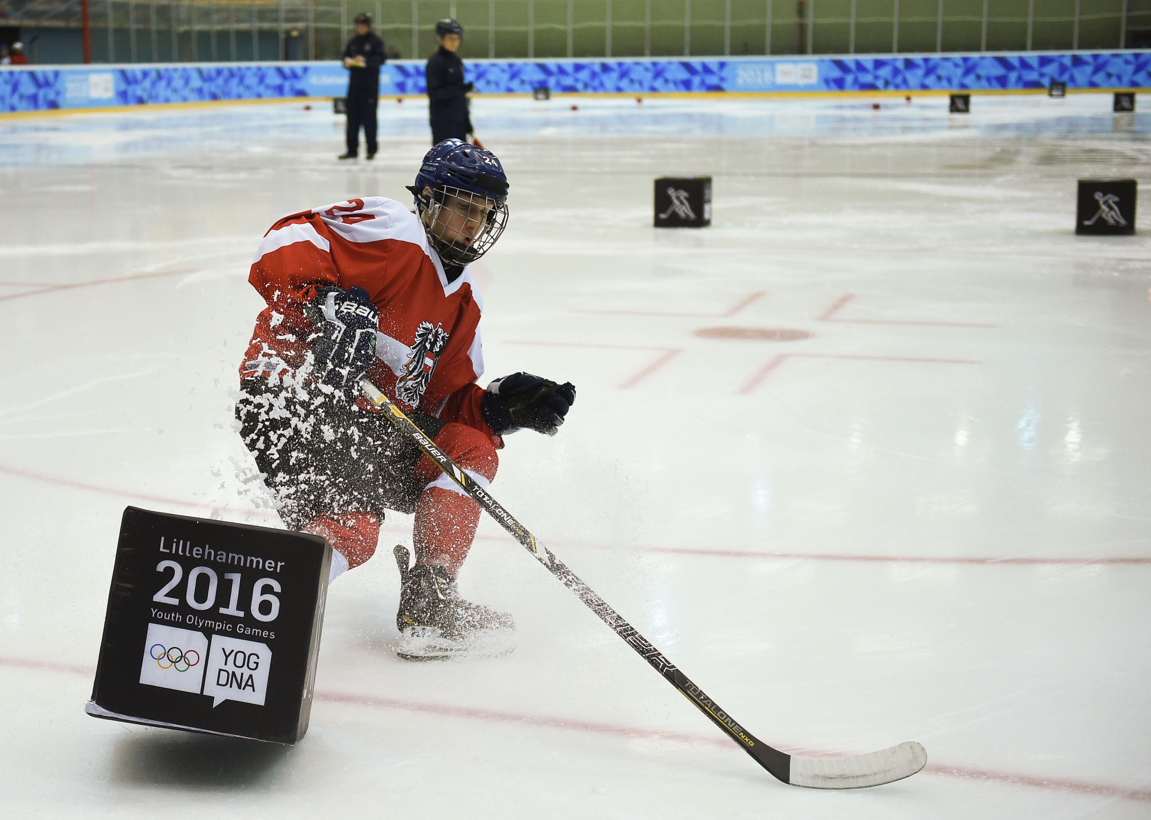 Ice Hockey Men's Skills Challenge