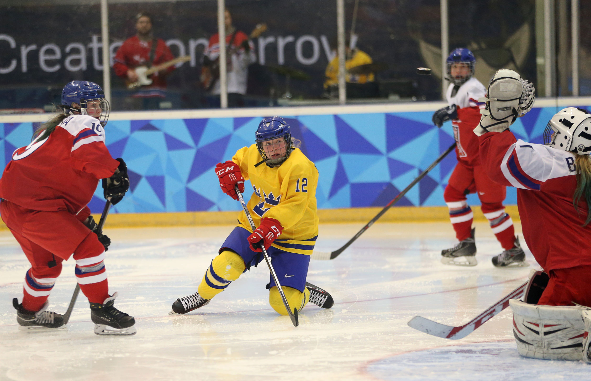Ice Hockey Womens' Gold Medal