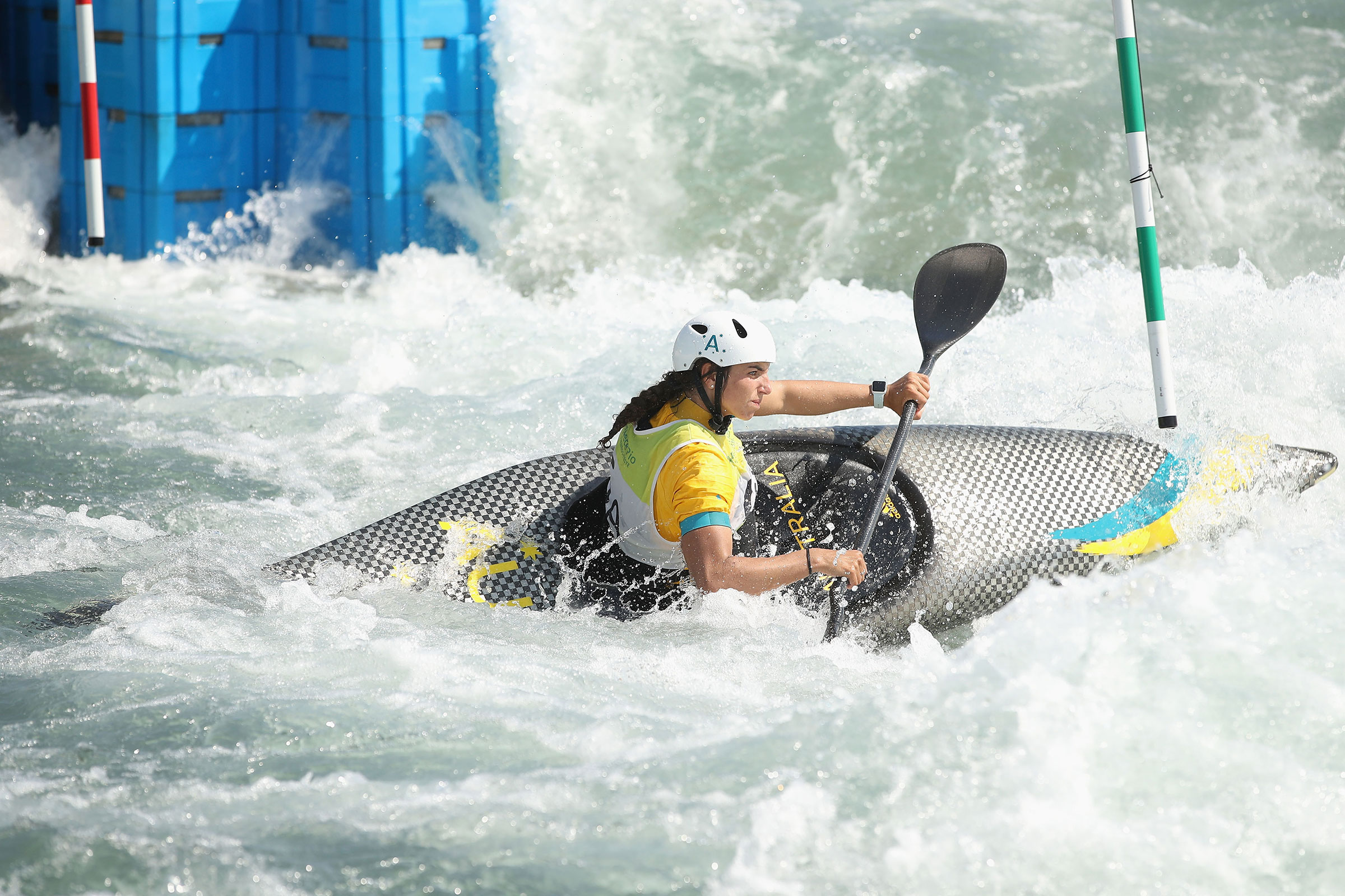 Canoe Slalom training