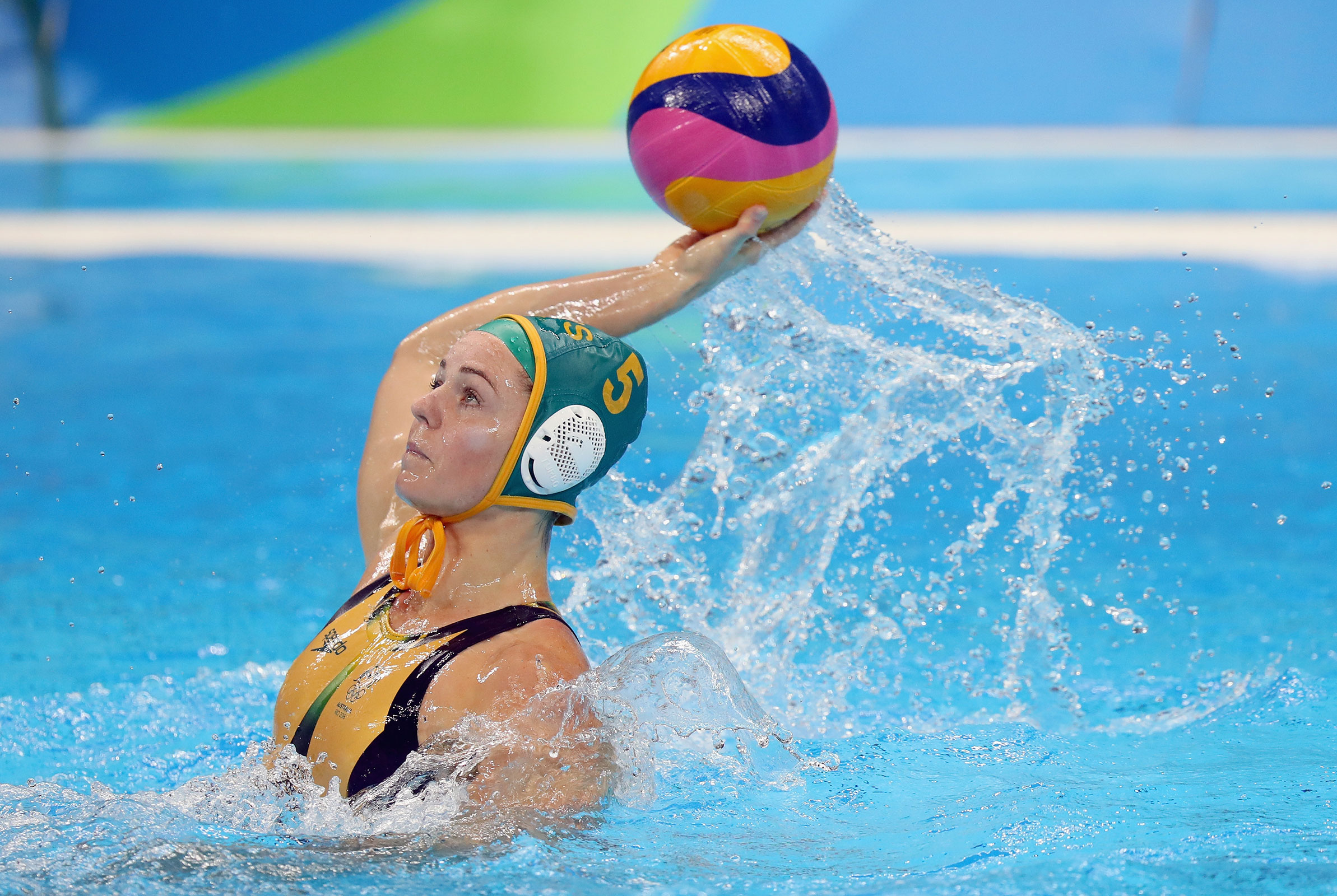 Water Polo training