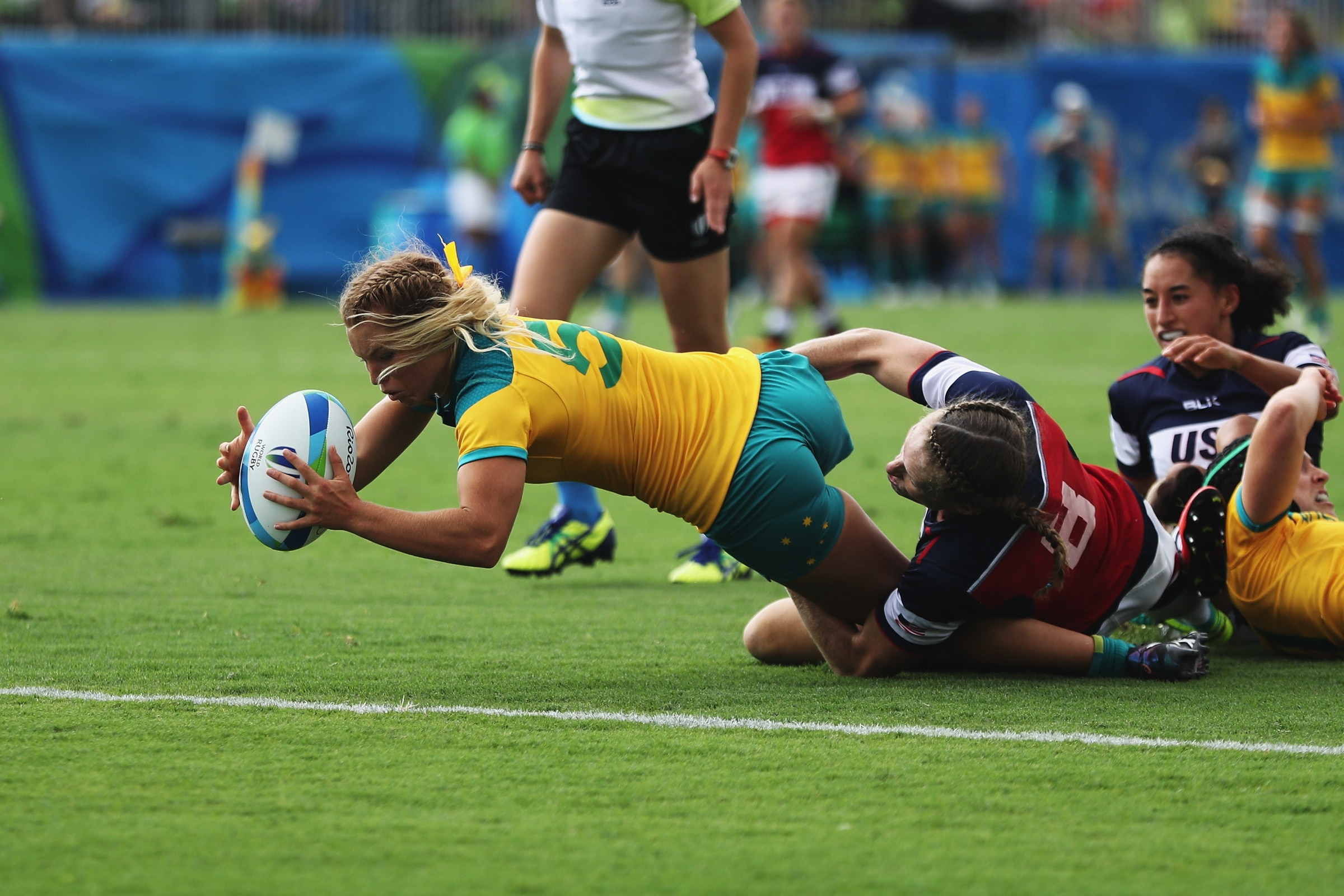 Rugby Women - Australia VS United States