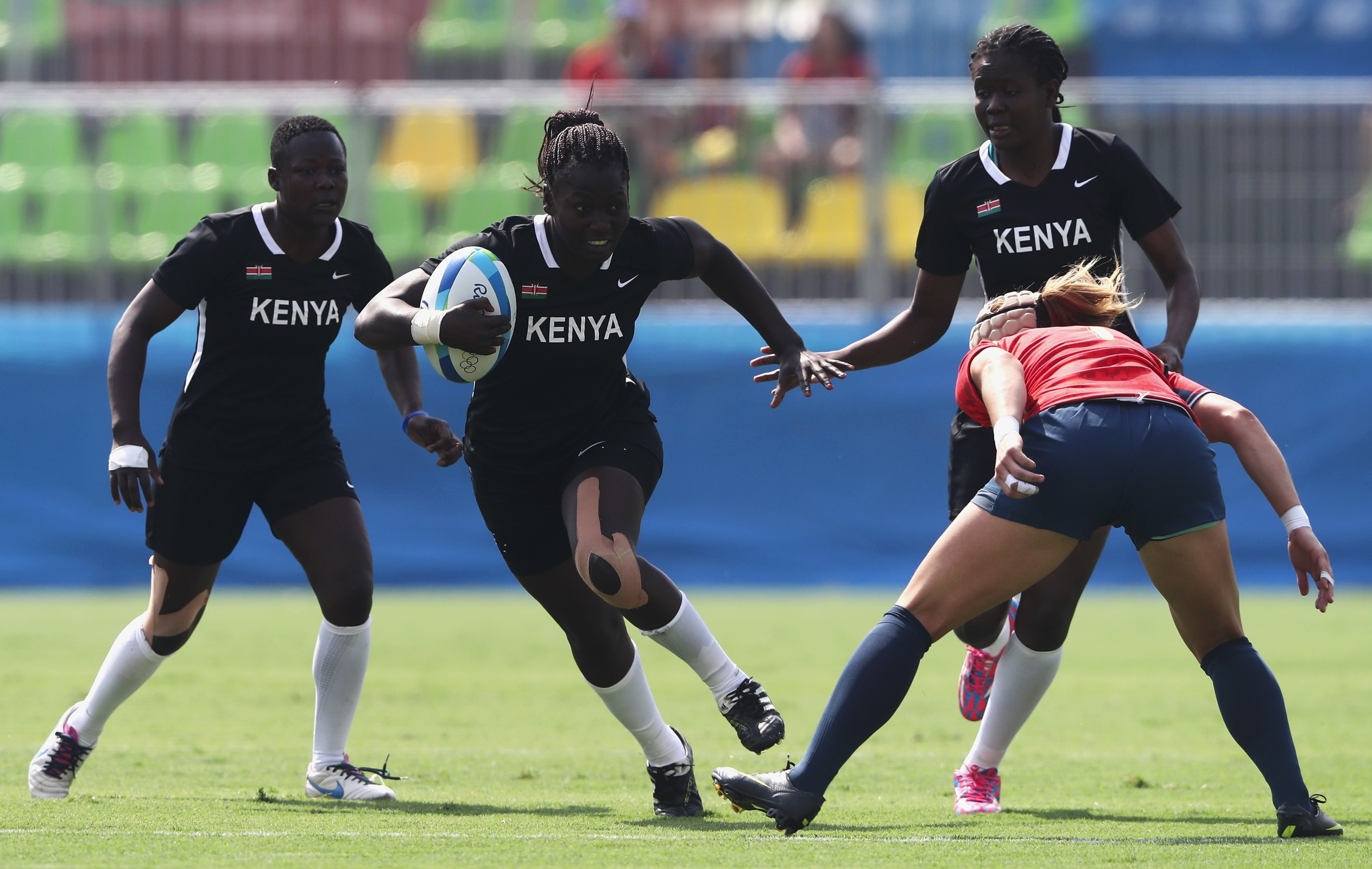 Rugby Women - Kenya VS Spain