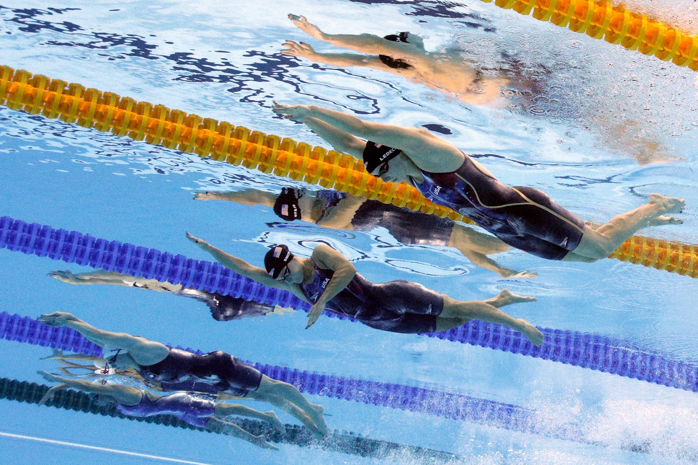 Swimming - Women's 400m Freestyle