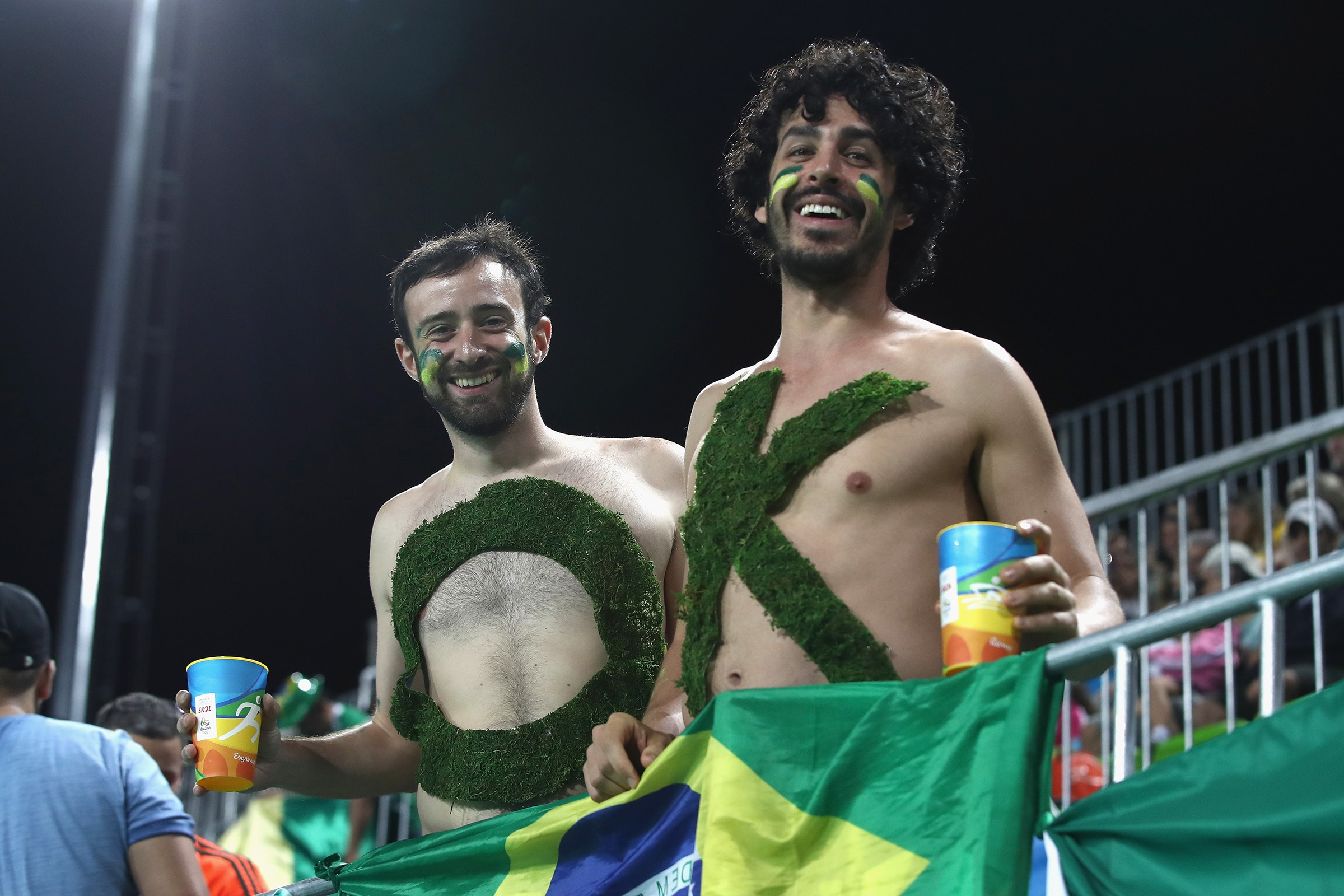 Fans at the Rio 2016 Olympic Games