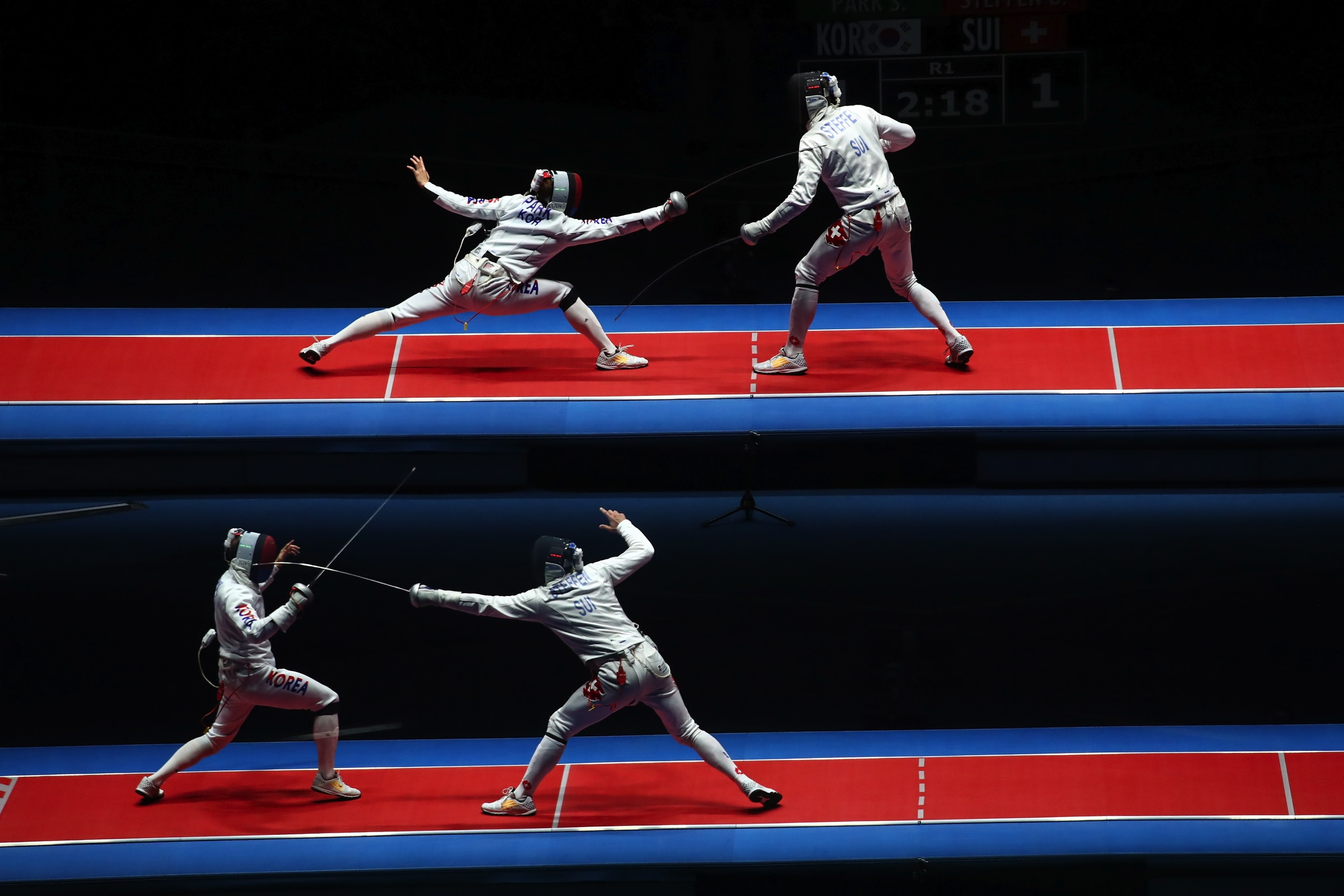 Fencing - Epee individual men