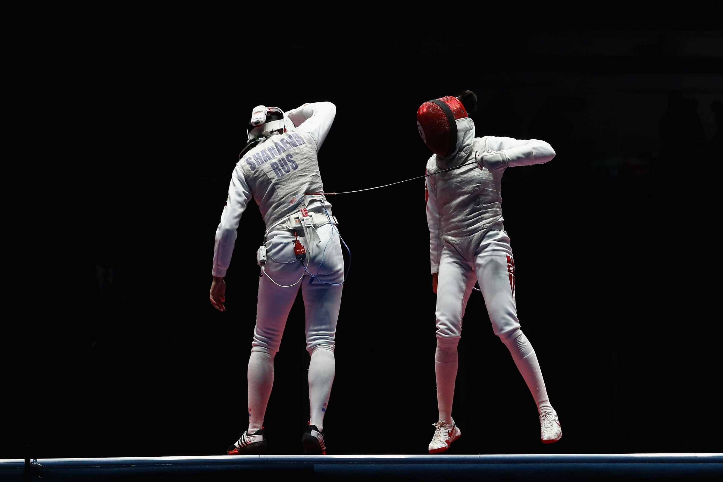 Fencing - Women's Foil Individual - Bronze Medal