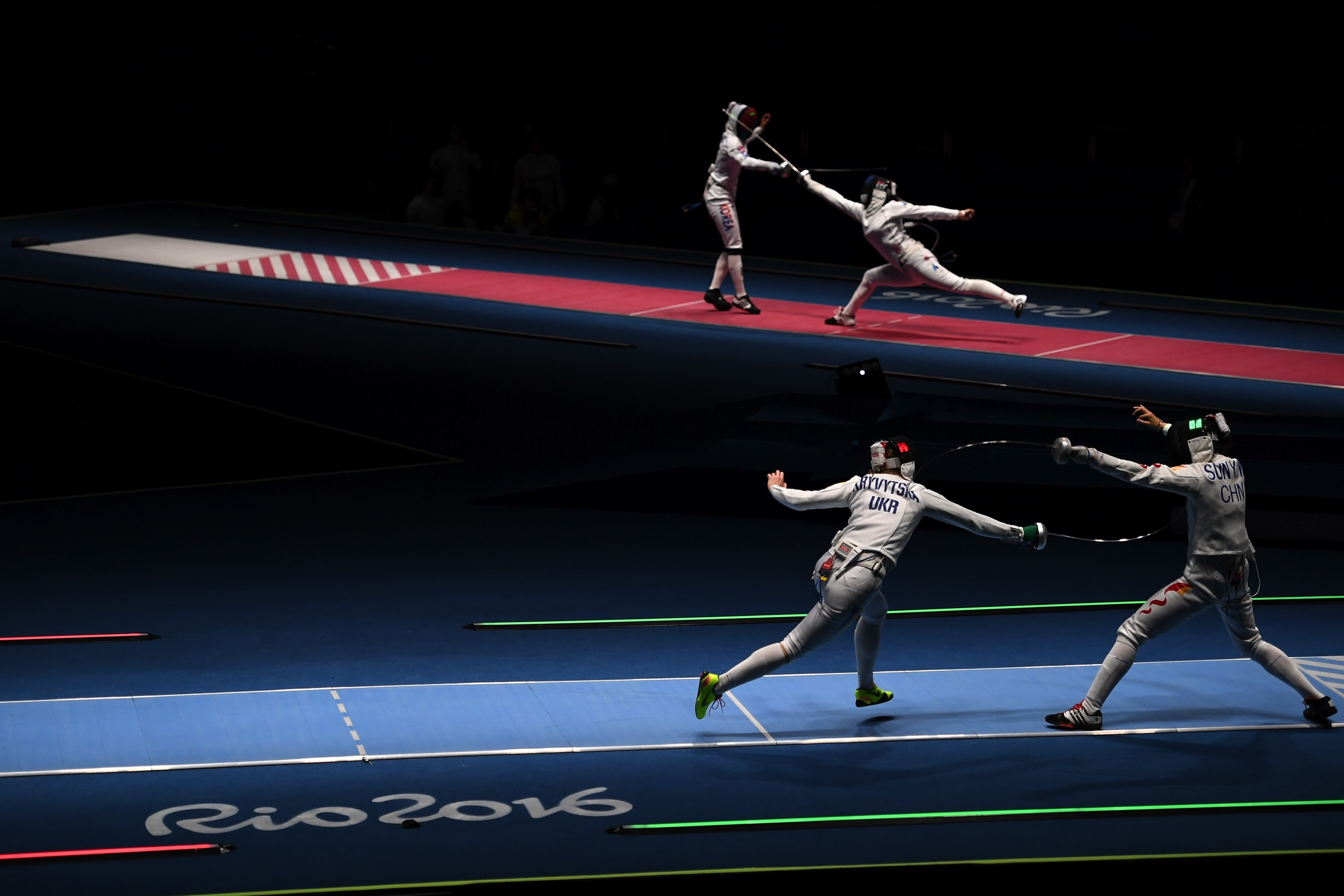 Fencing - Women's Épée Team