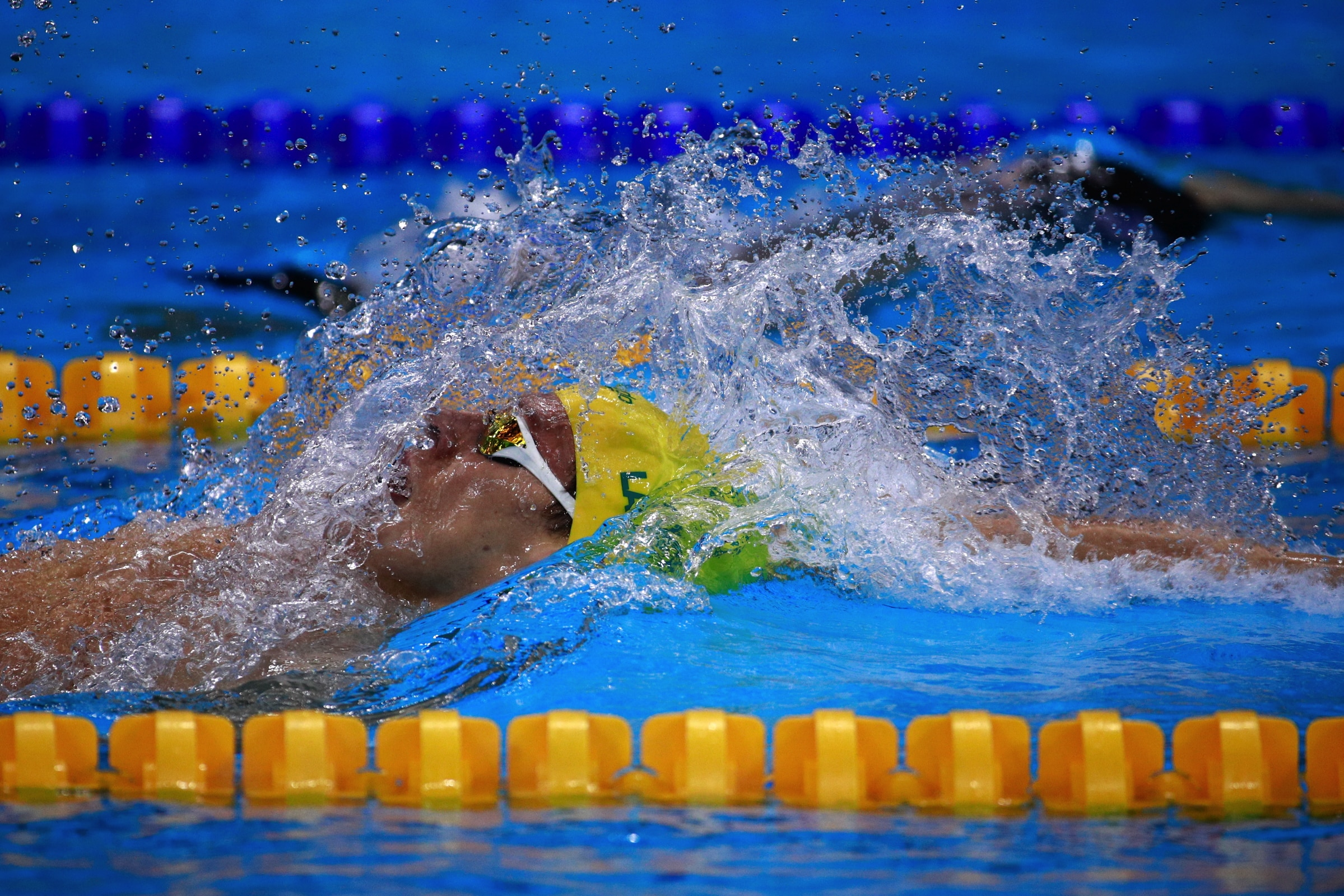 Swimming - Men's 200m Backstroke Final