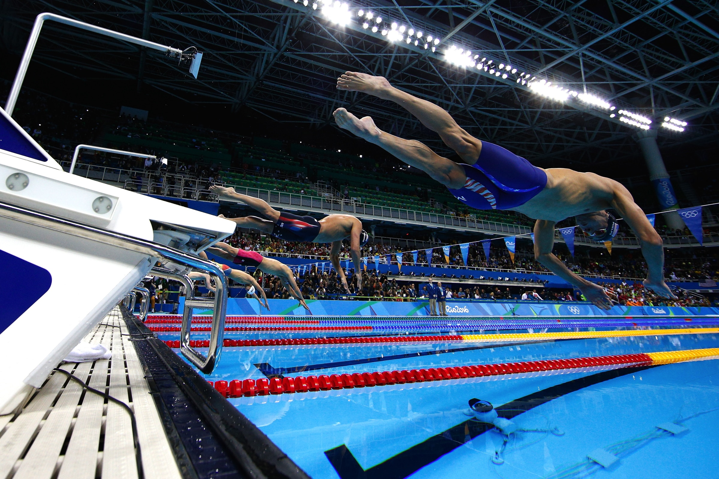 Swimming - Men's 200m Individual Medley Final