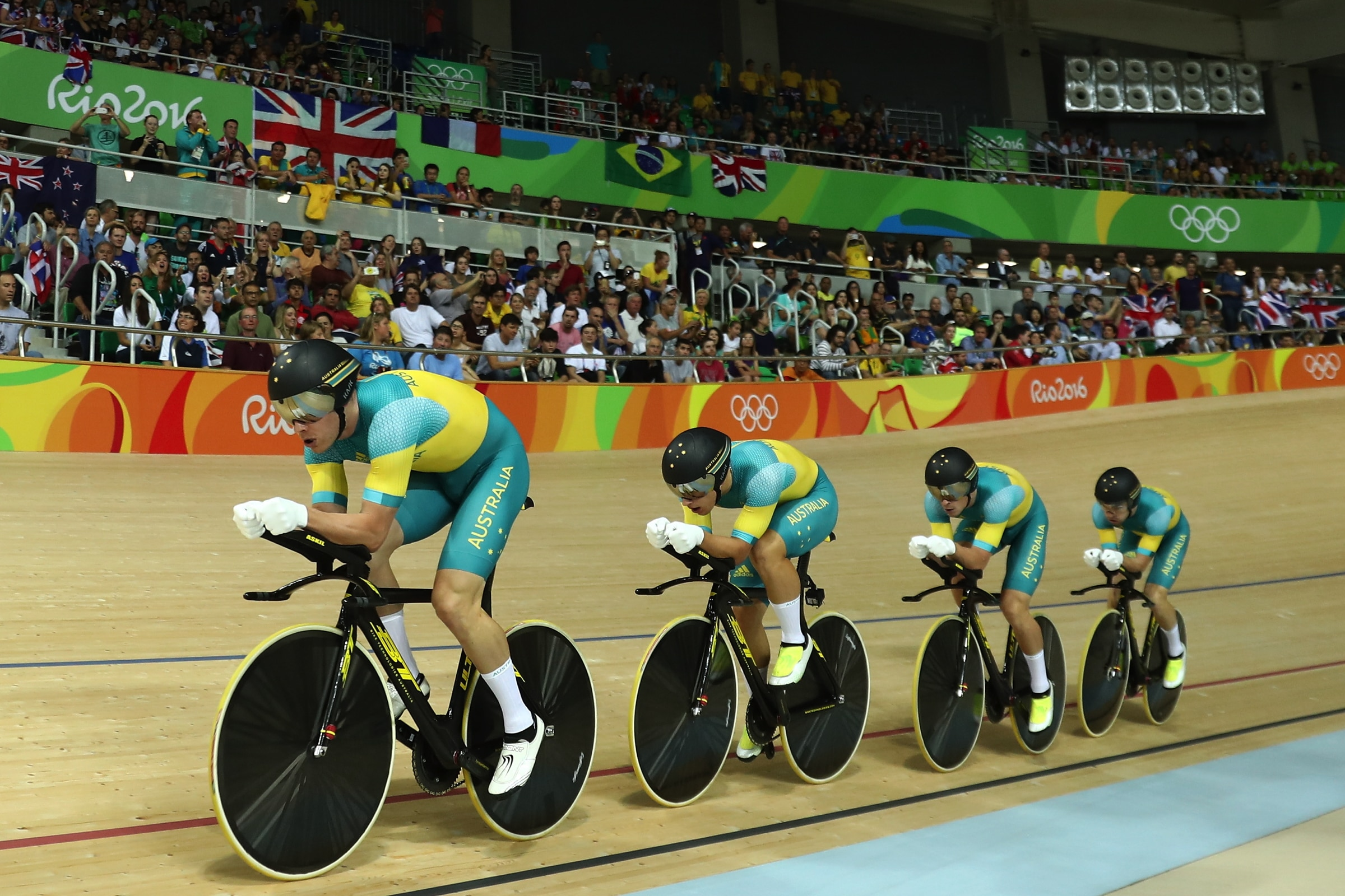 Cycling Track - Men's Team Pursuit
