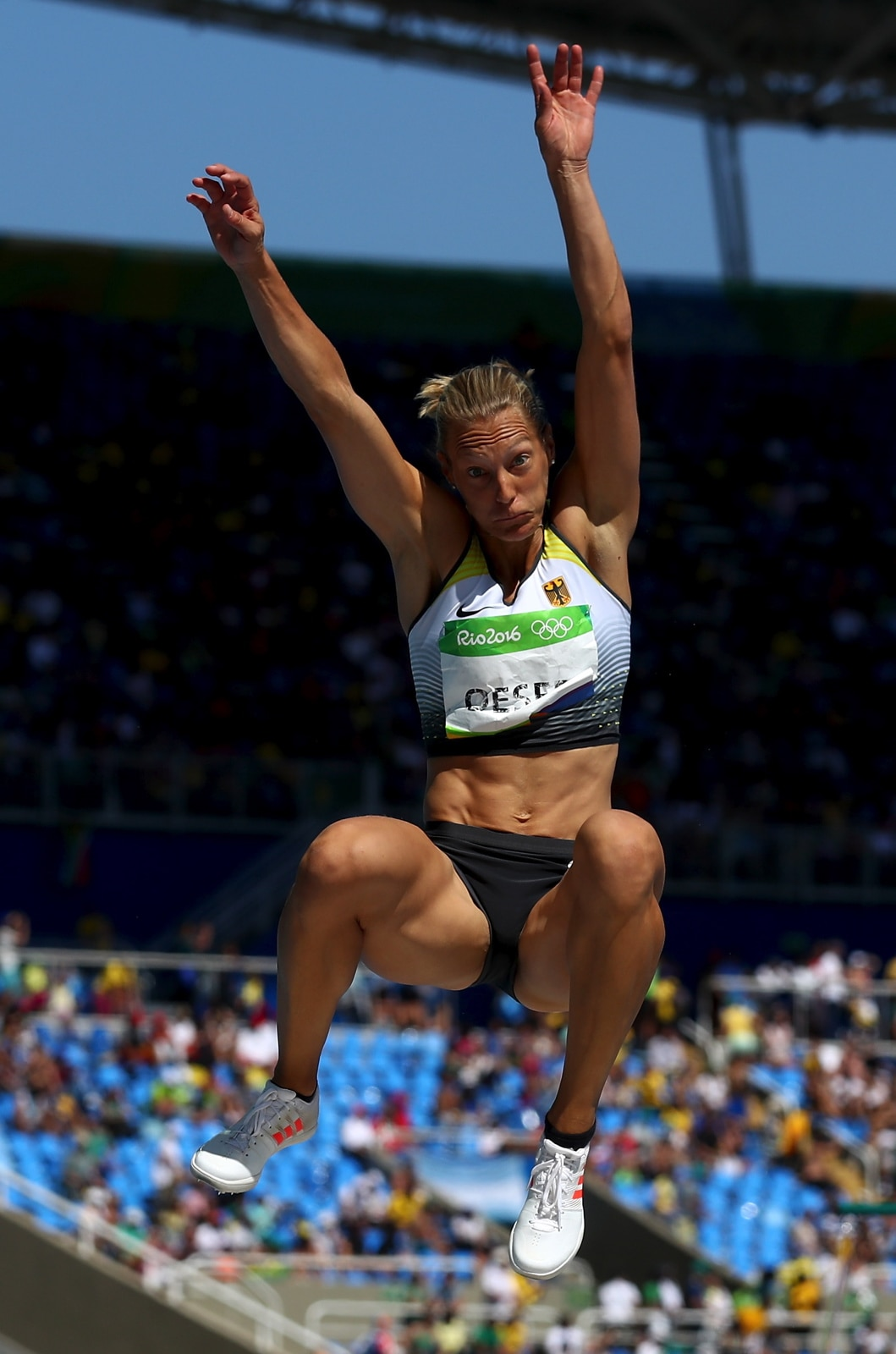 Athletics - Heptathlon Women : Long Jump