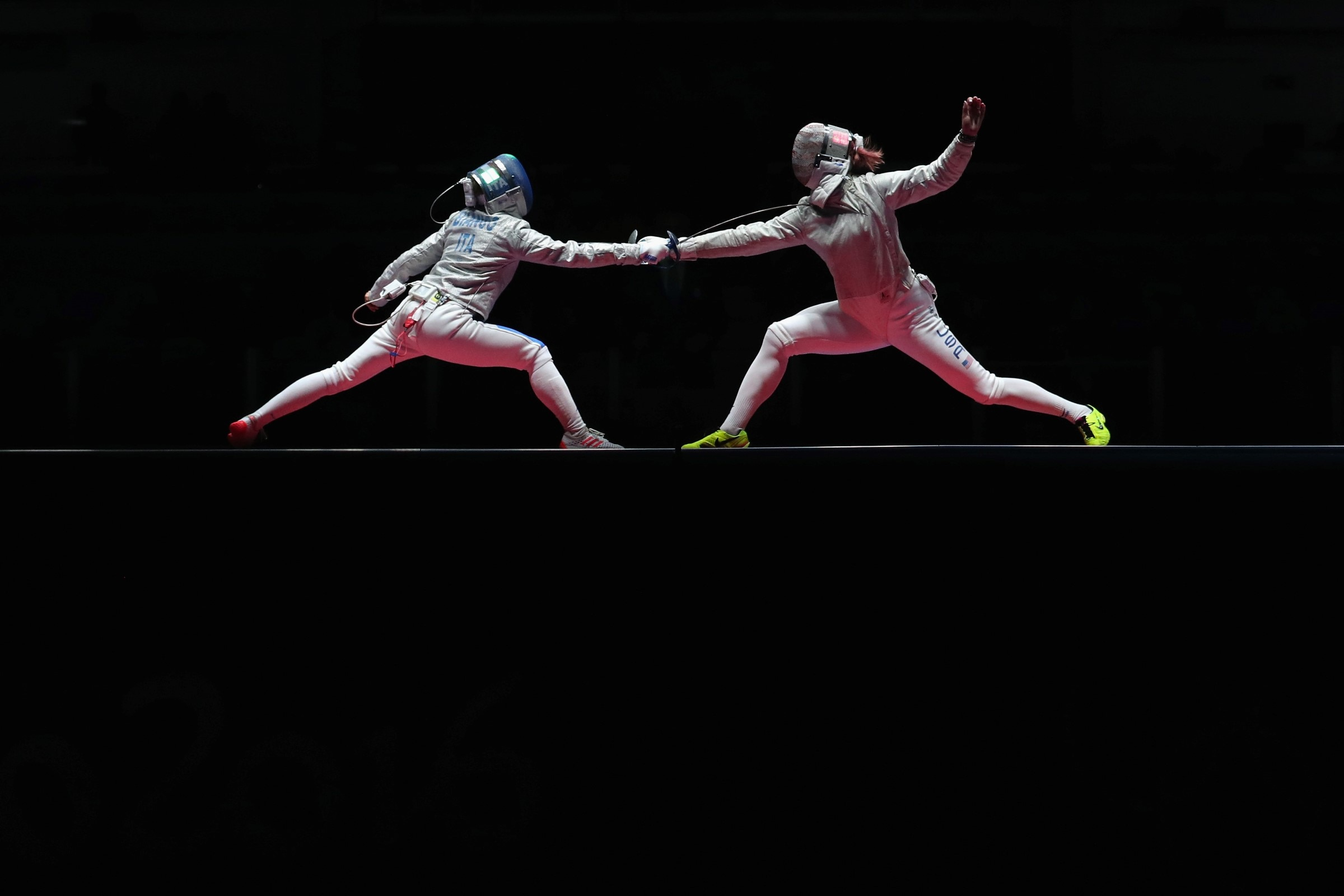 Fencing - Sabre Team Women