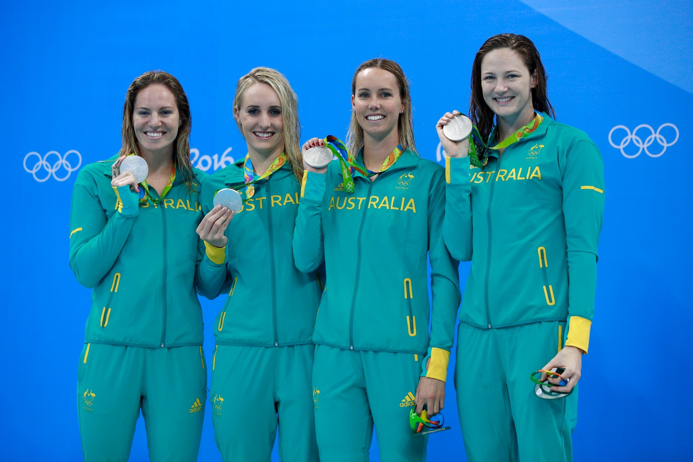 Swimming - 4x100m Medley Relay Women