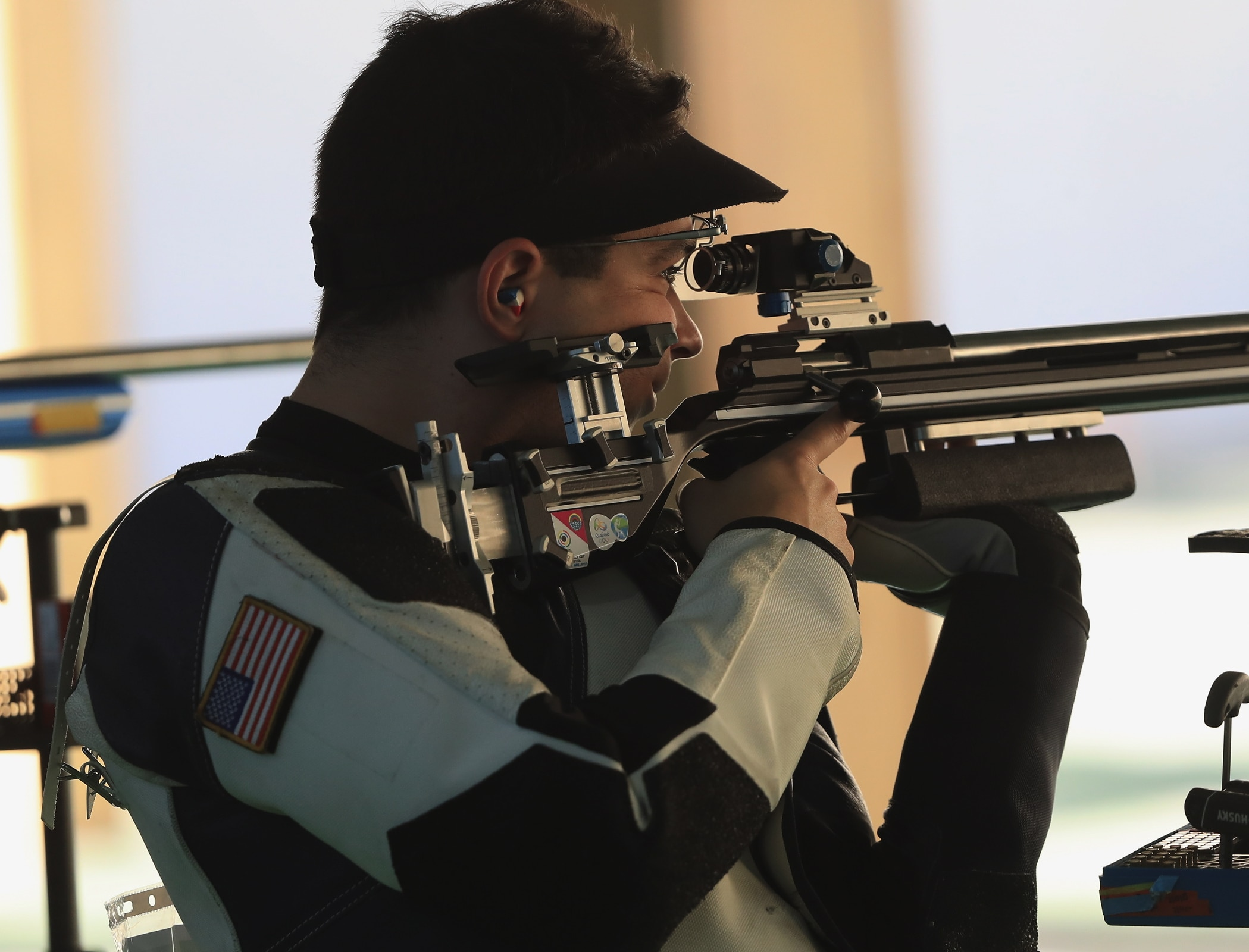 Shooting - 50m Rifle 3 Positions Men