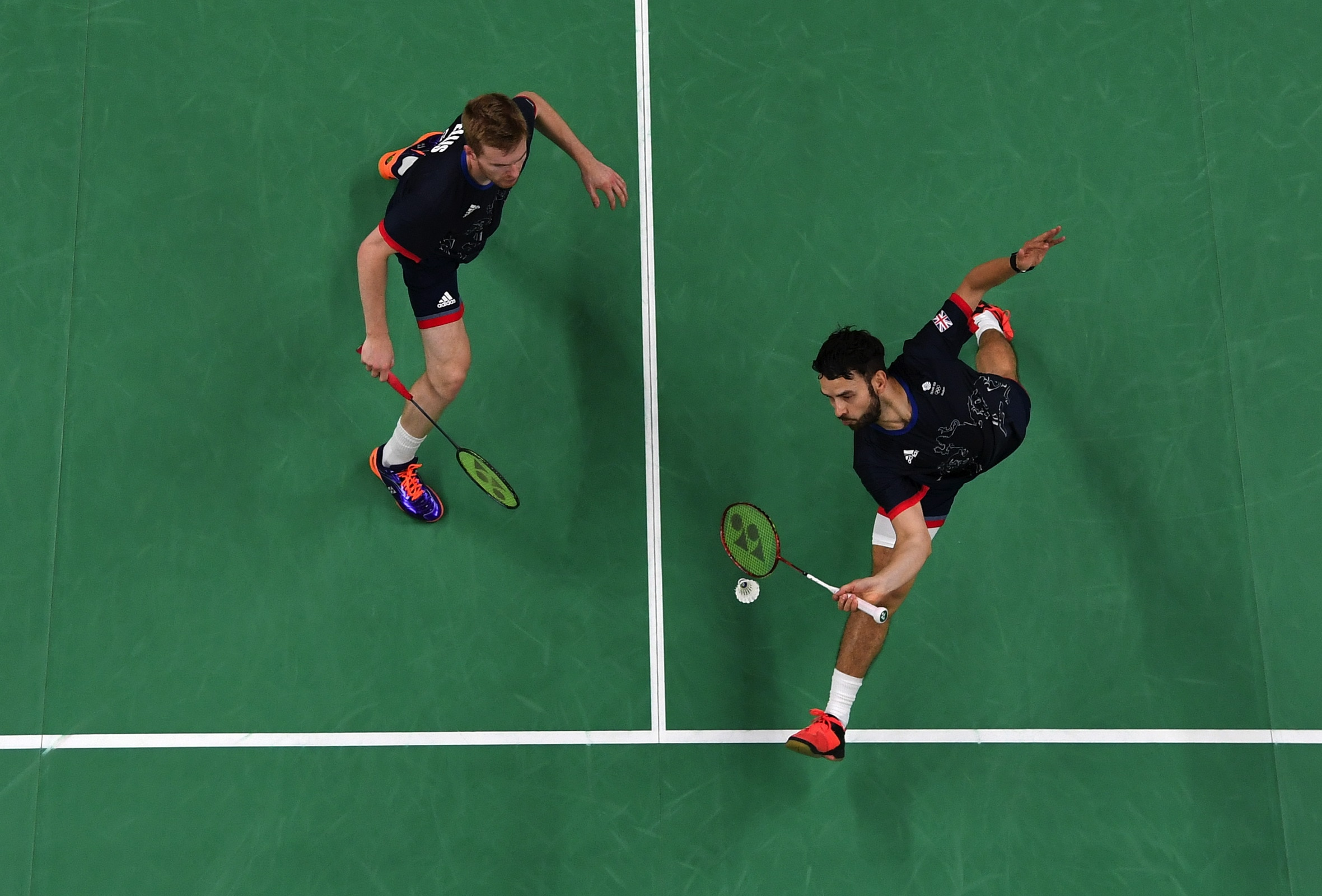 Badminton - Doubles Men