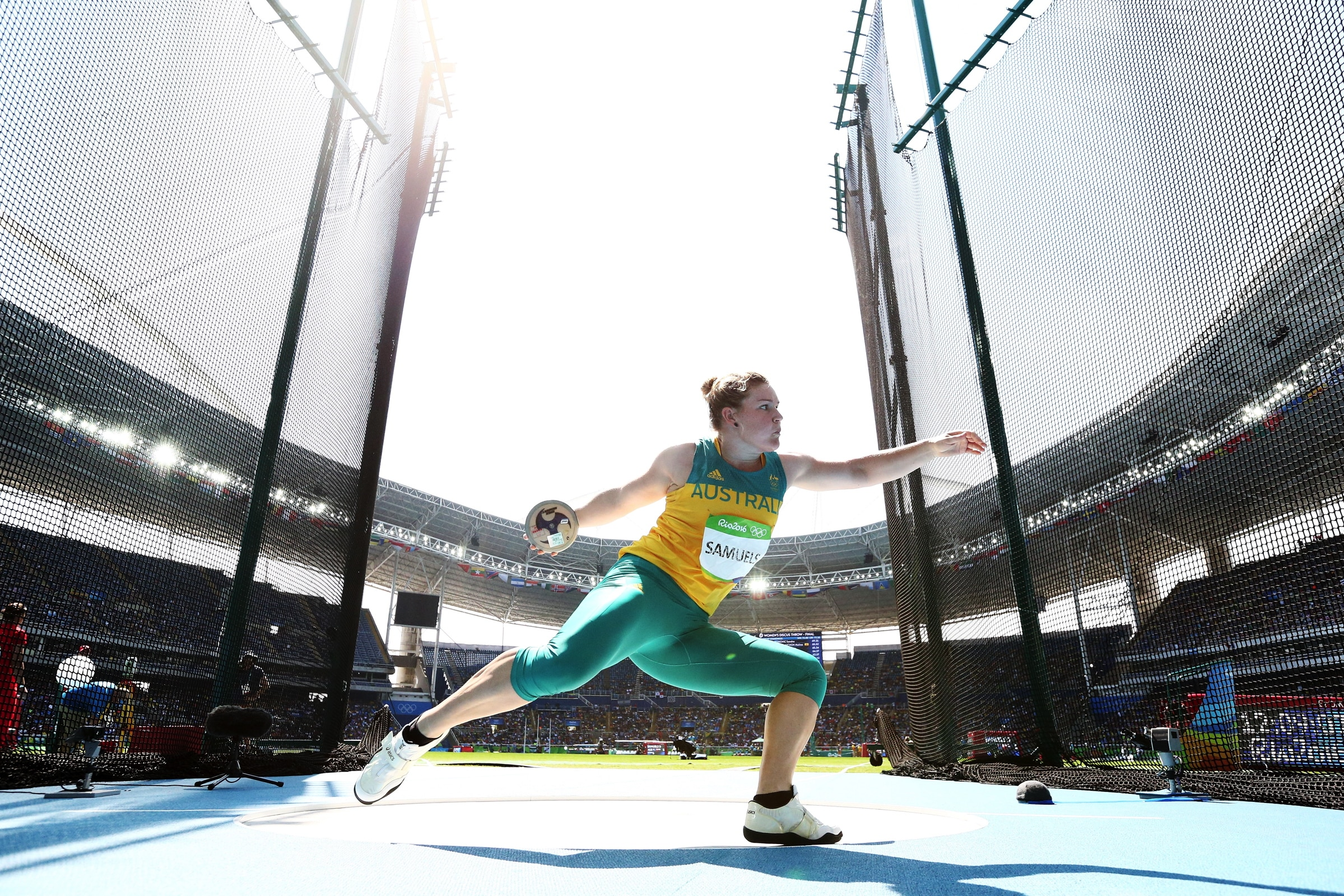 Athletics - Discus Throw Women