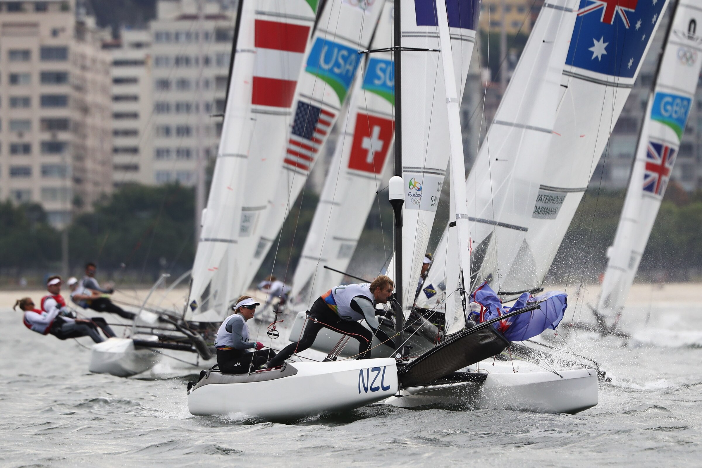 Sailing - Nacra 17 Mixed