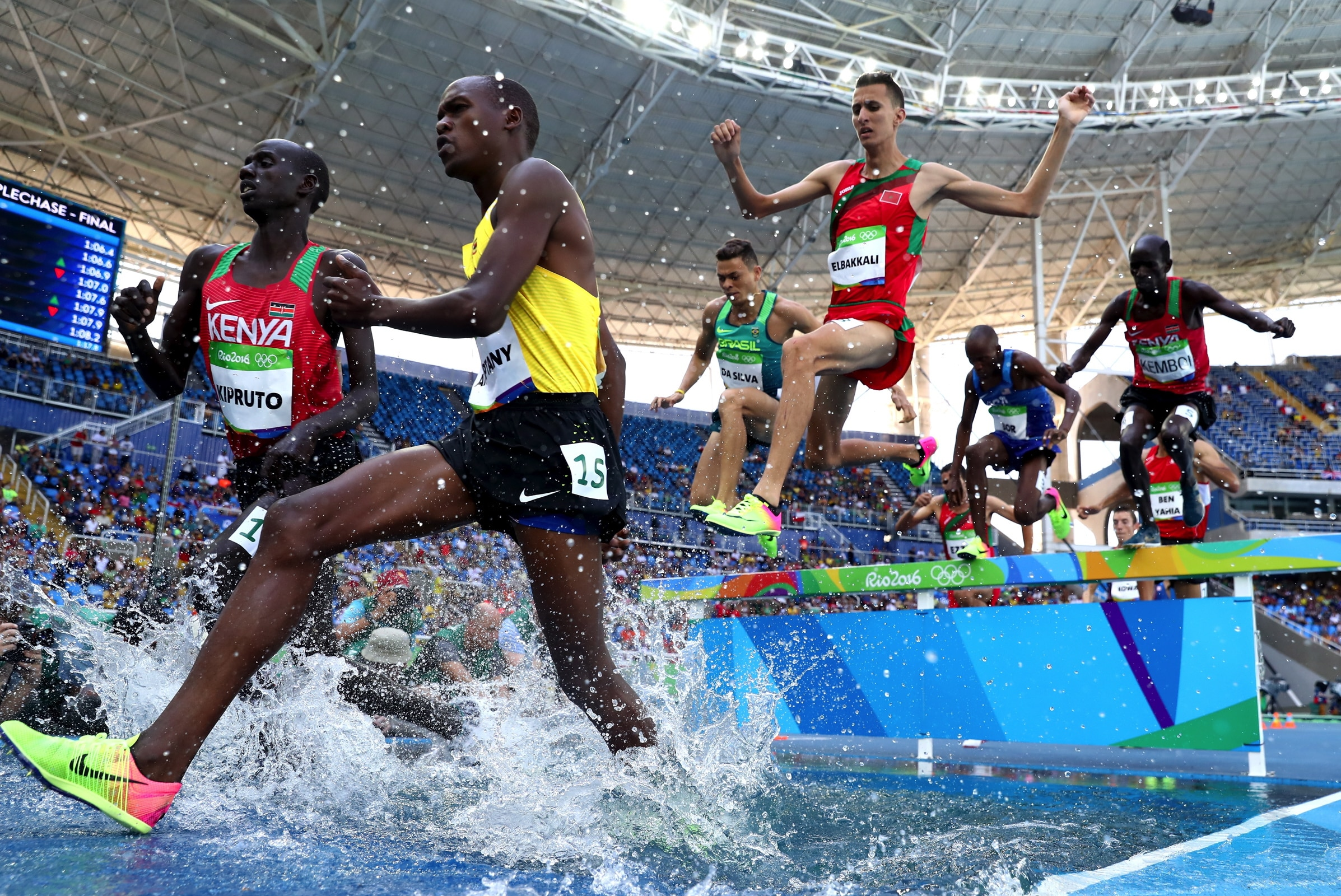 Athletics - Men's 3000m steeplechase