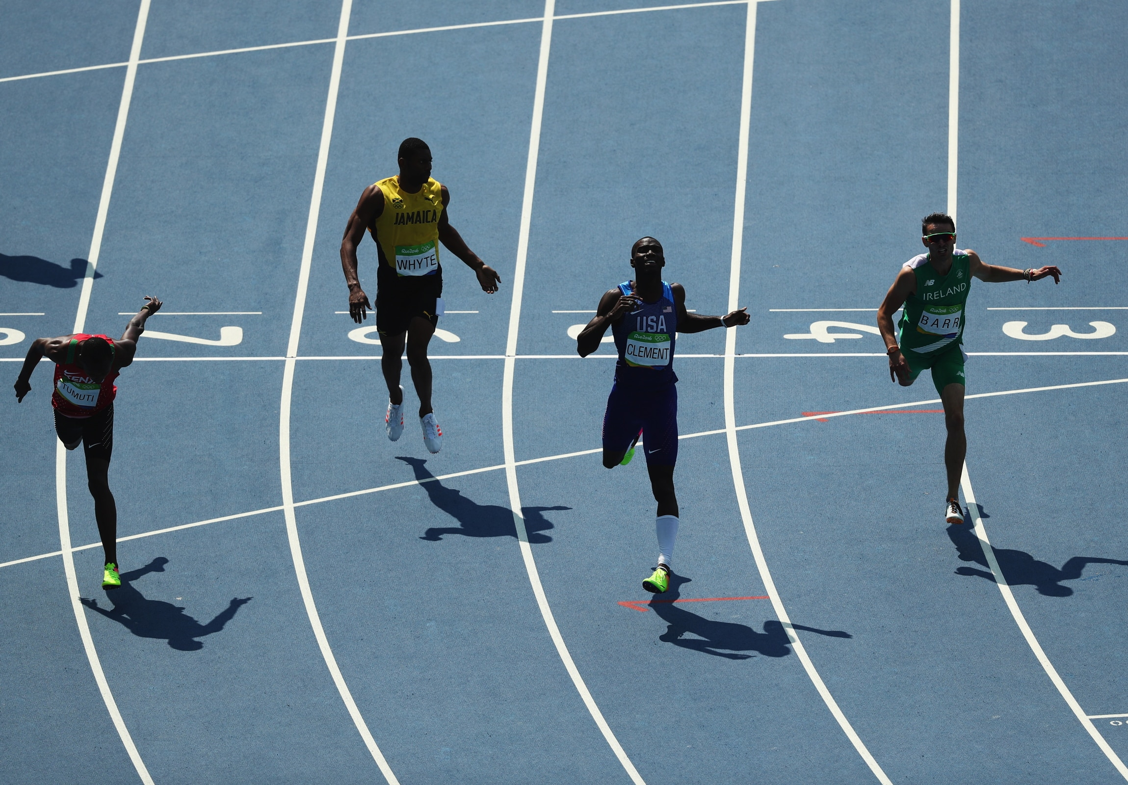 Athletics - 400m Hurdles Men