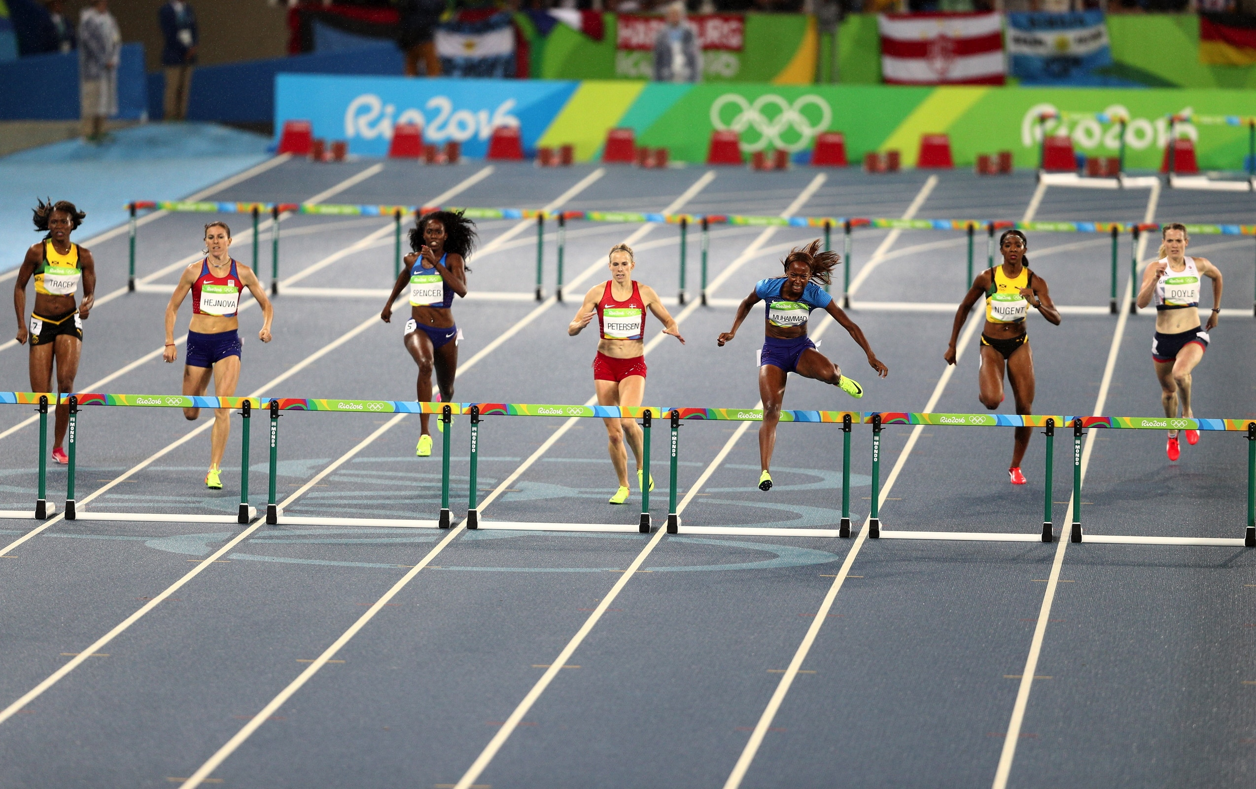 Athletics - 400m Hurdles Women