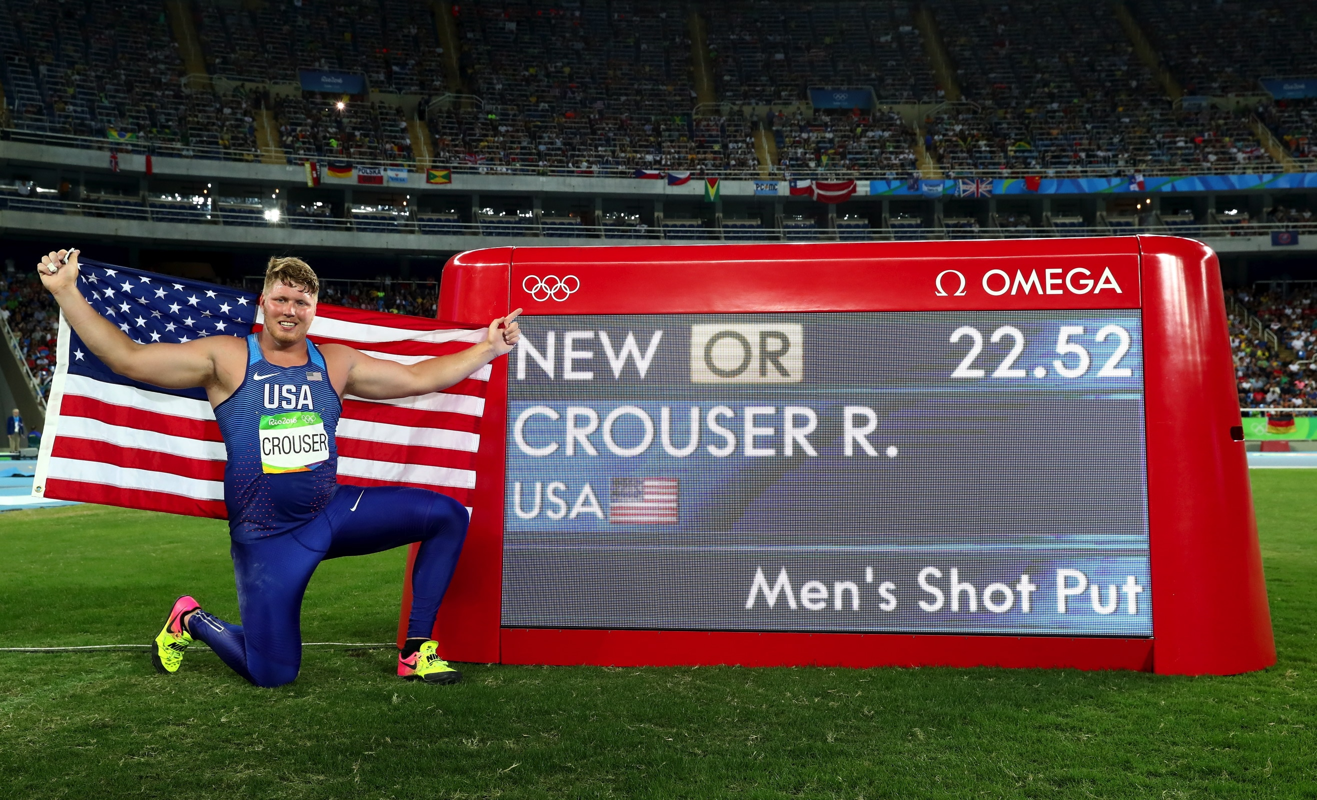 Athletics - Shot Put Men
