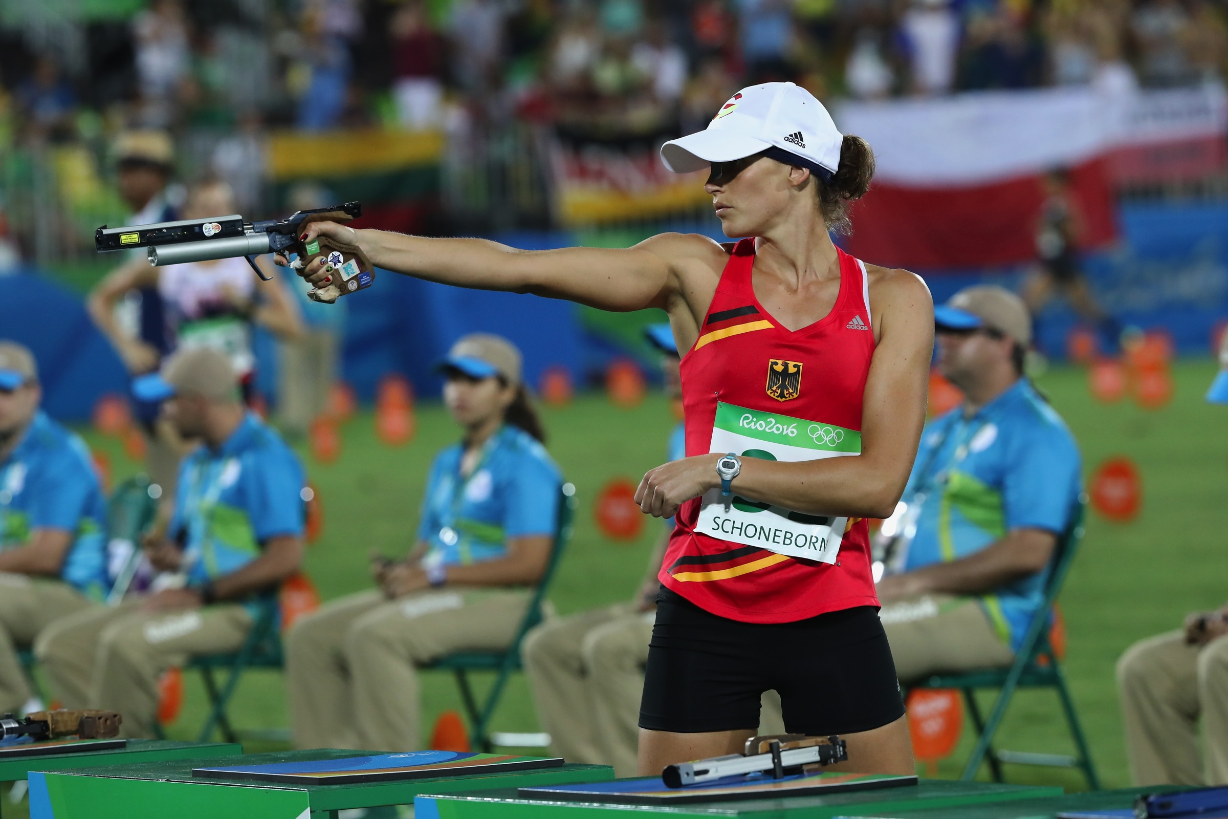 Modern Pentathlon - Combined Running/Shooting Women