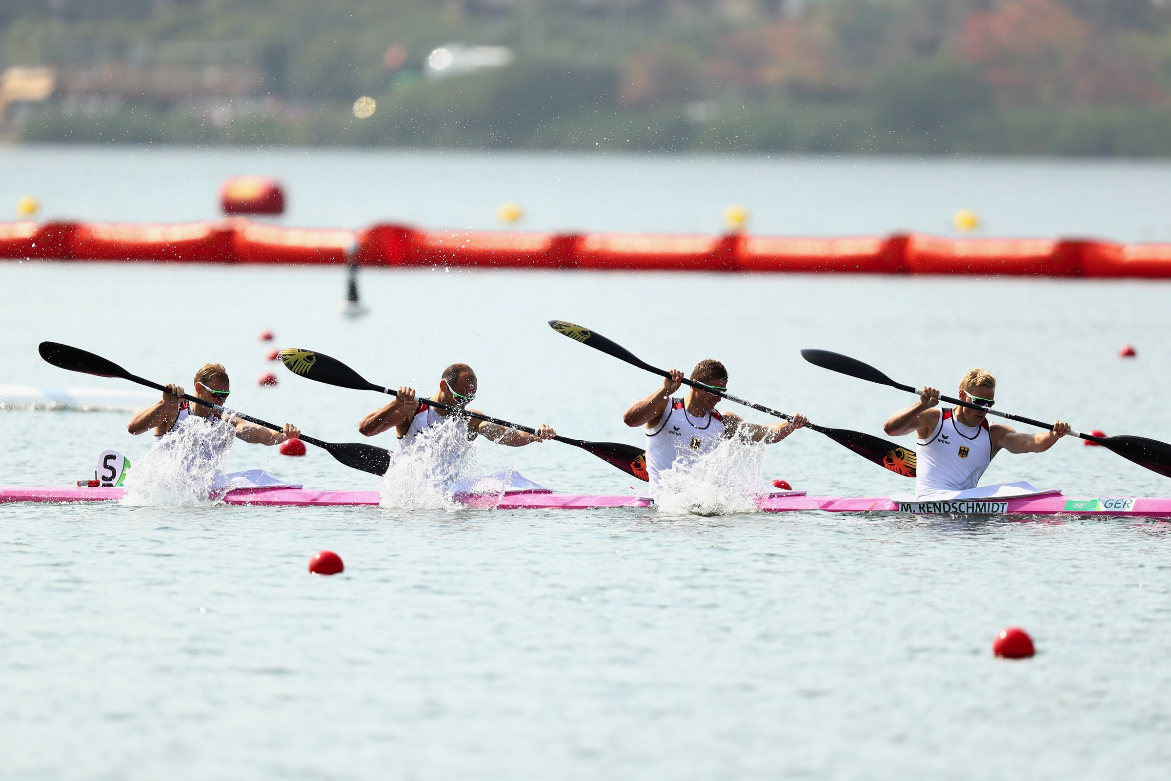 Canoe Sprint - K-4 1000m Men