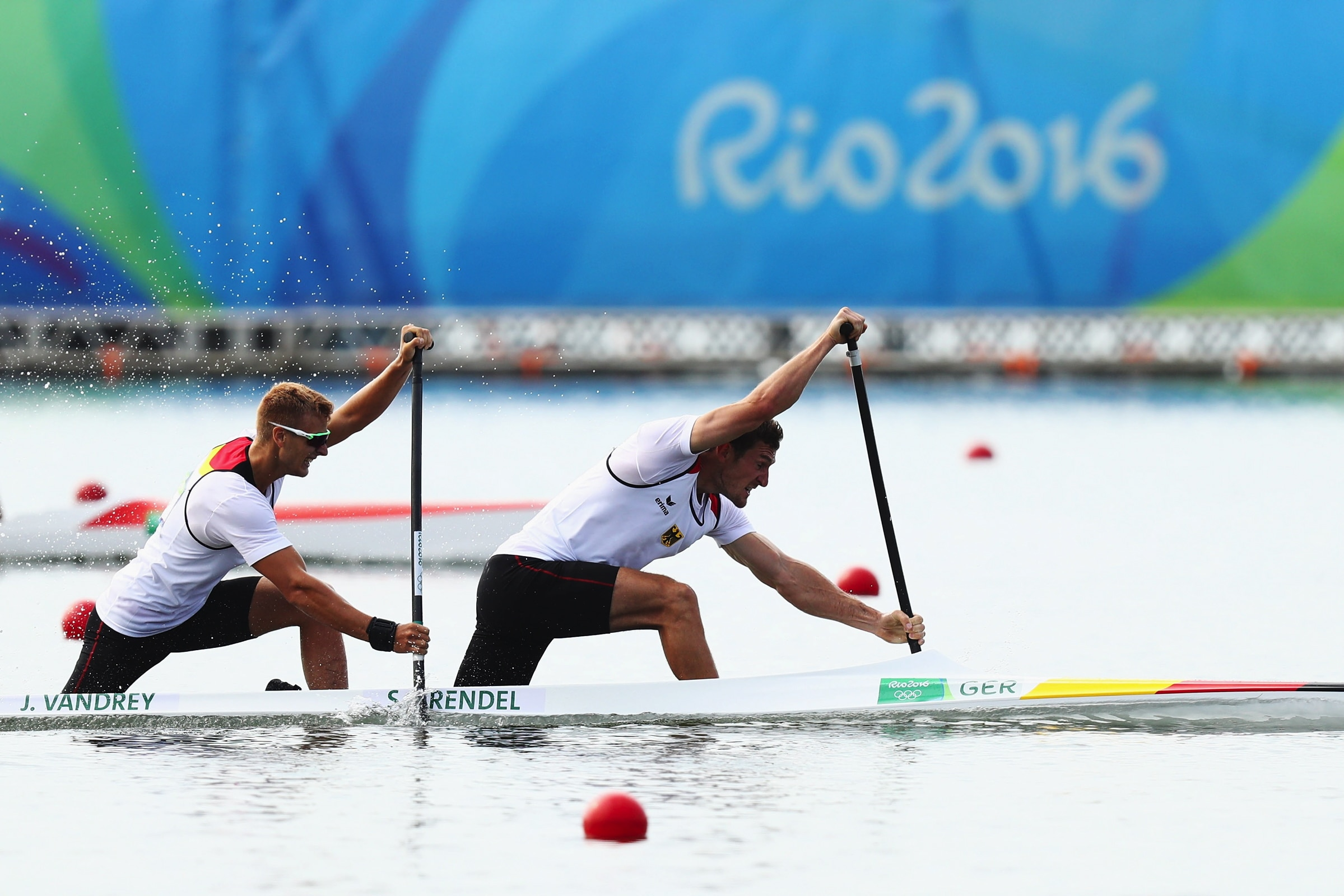 Canoe Sprint - K-2 1000m Men