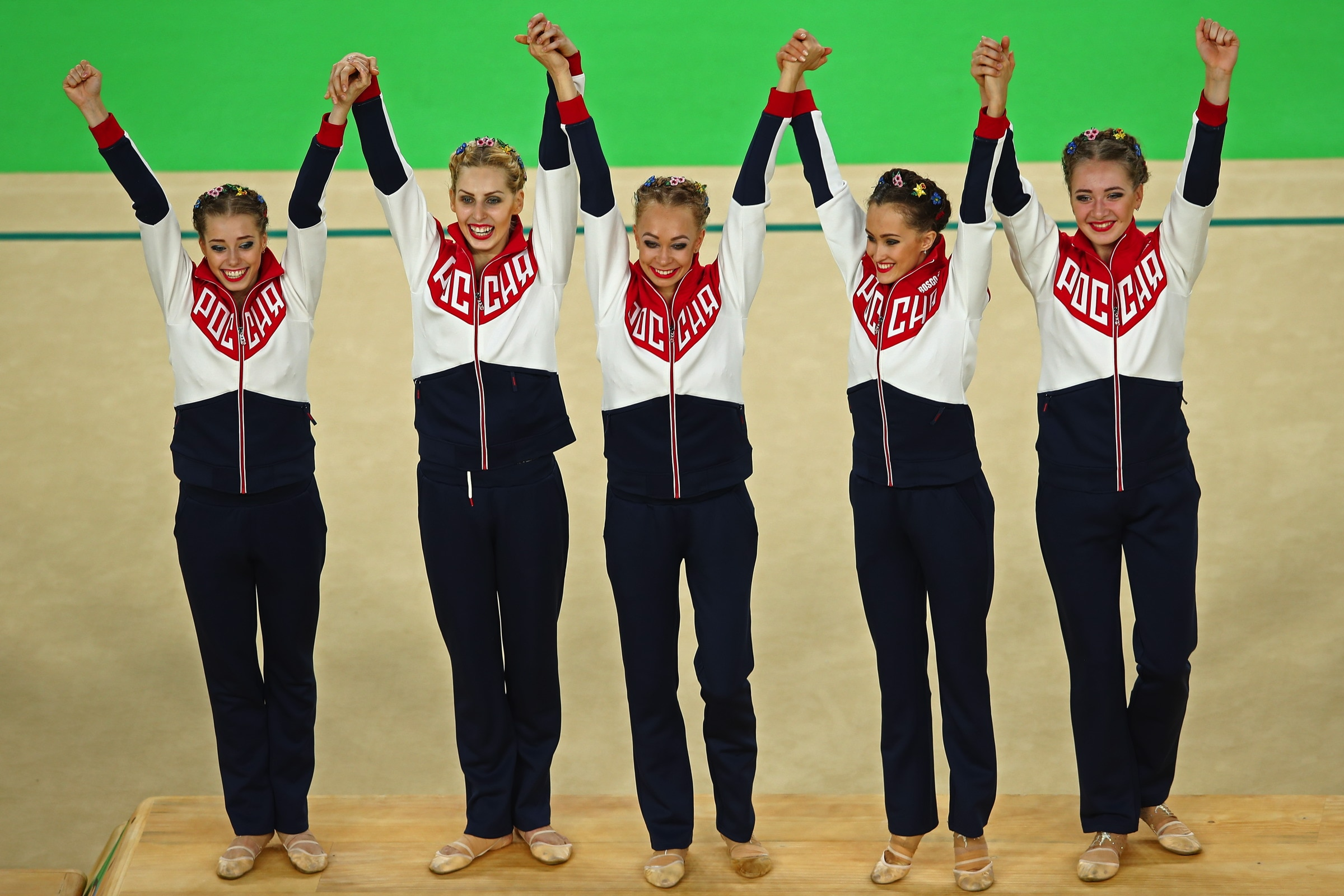 Gymnastics Rhythmic - Women's team all-around