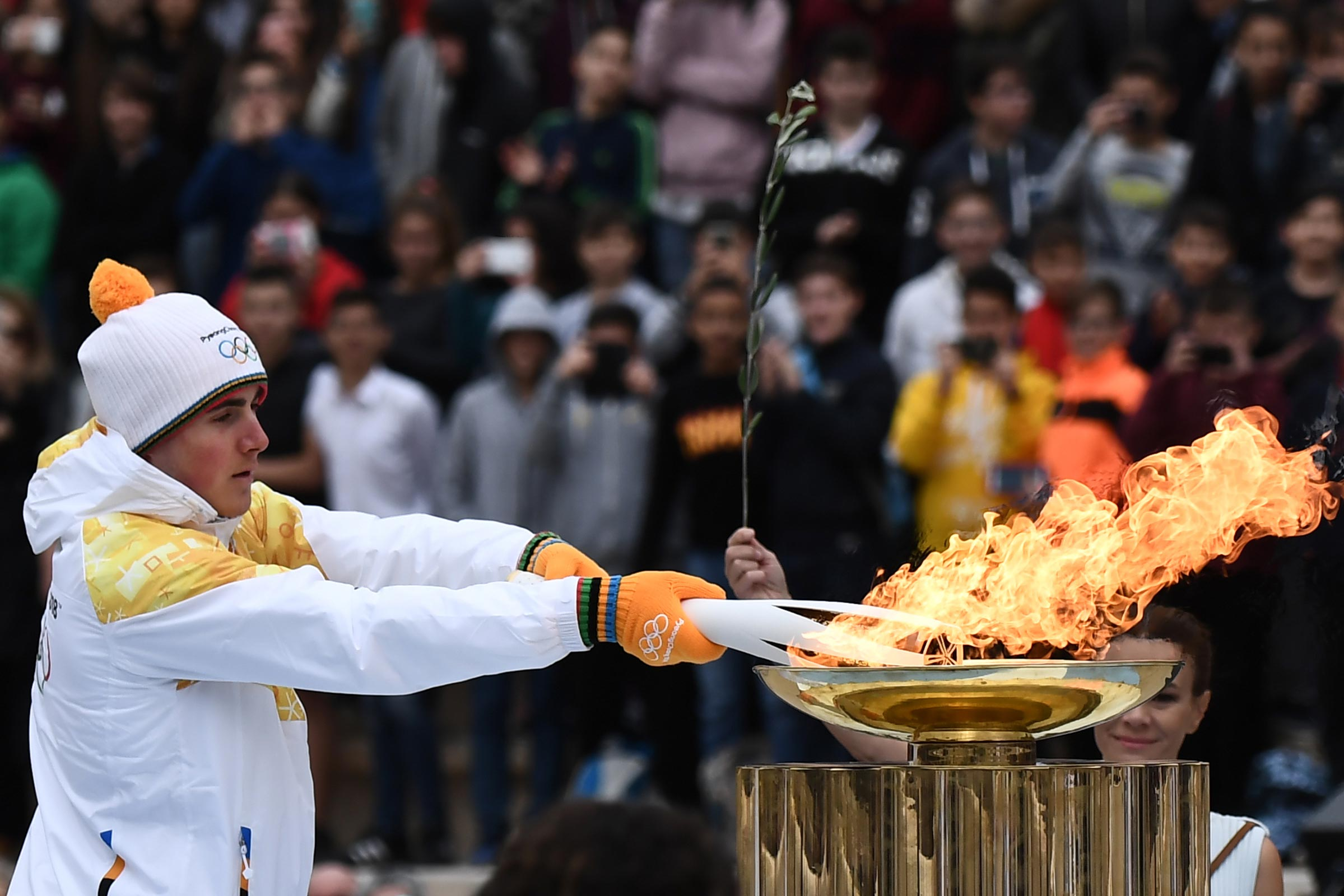 PyeongChang 2018 Torch Handover ceremony