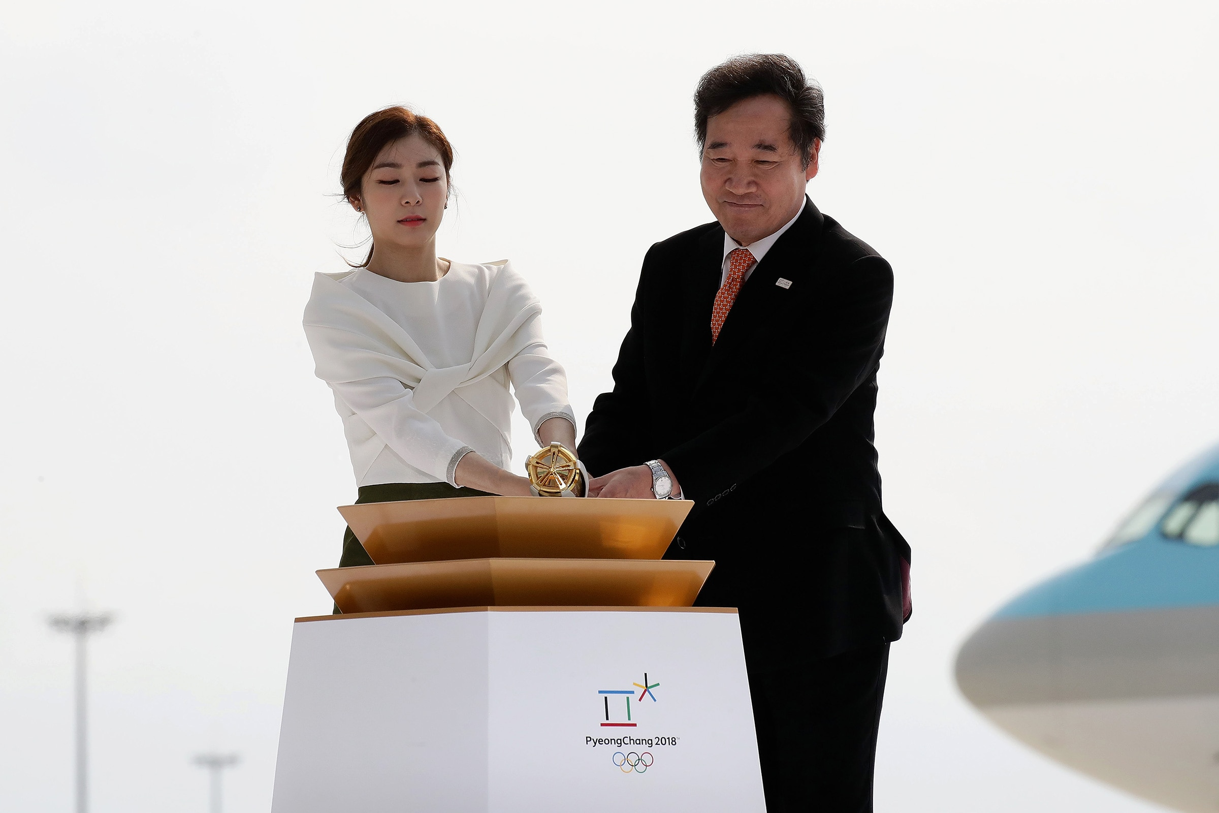 PyeongChang 2018 Olympic Torch Relay - Day 1