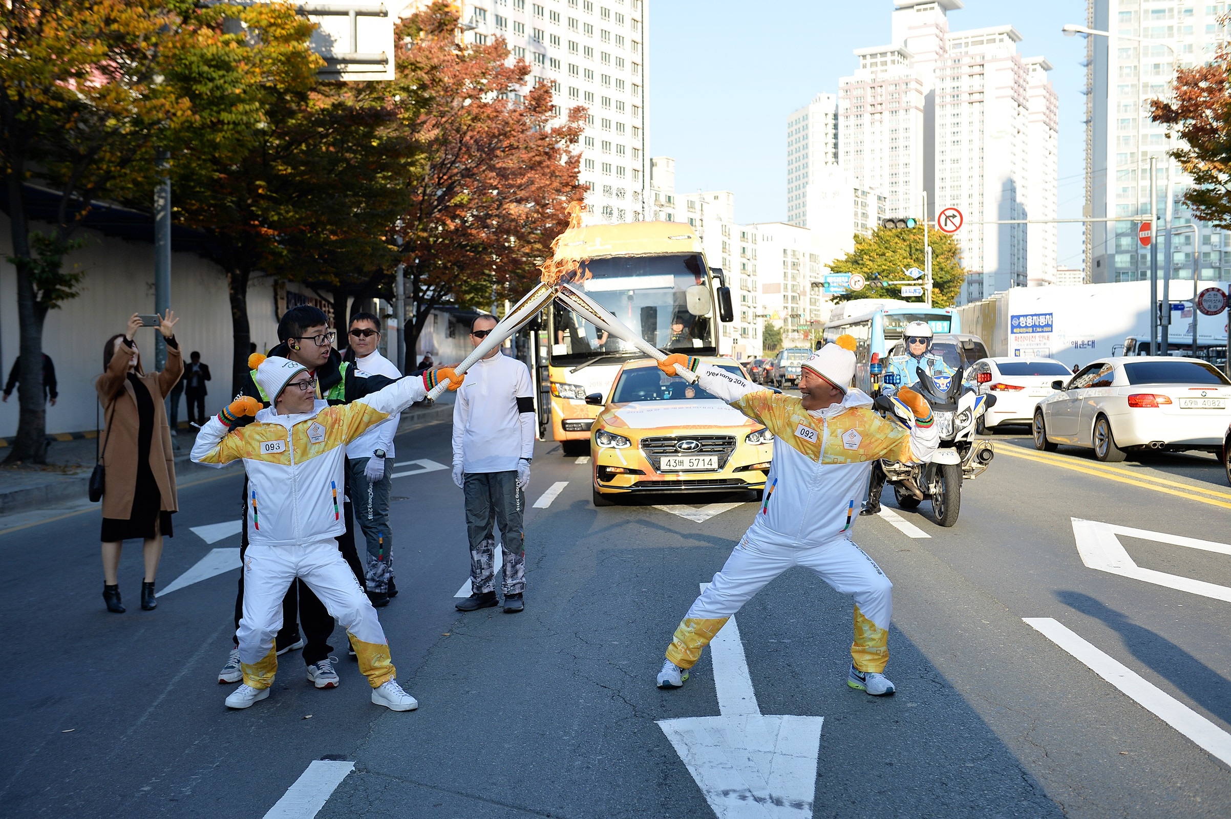 PyeongChang 2018 Olympic Torch Relay - Day 6
