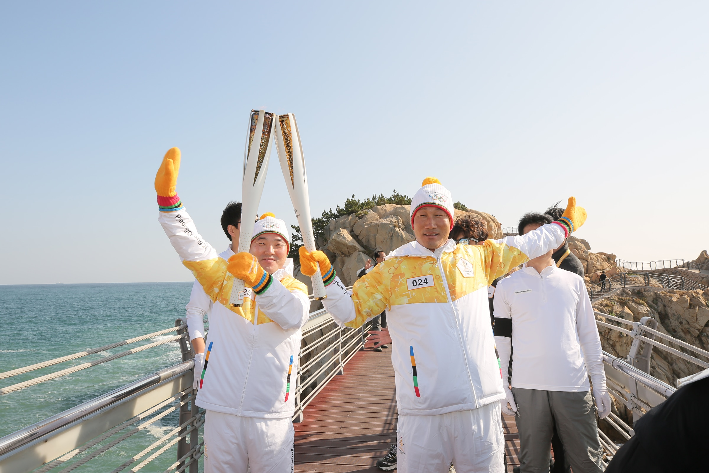 PyeongChang 2018 Olympic Torch Relay - Day 9