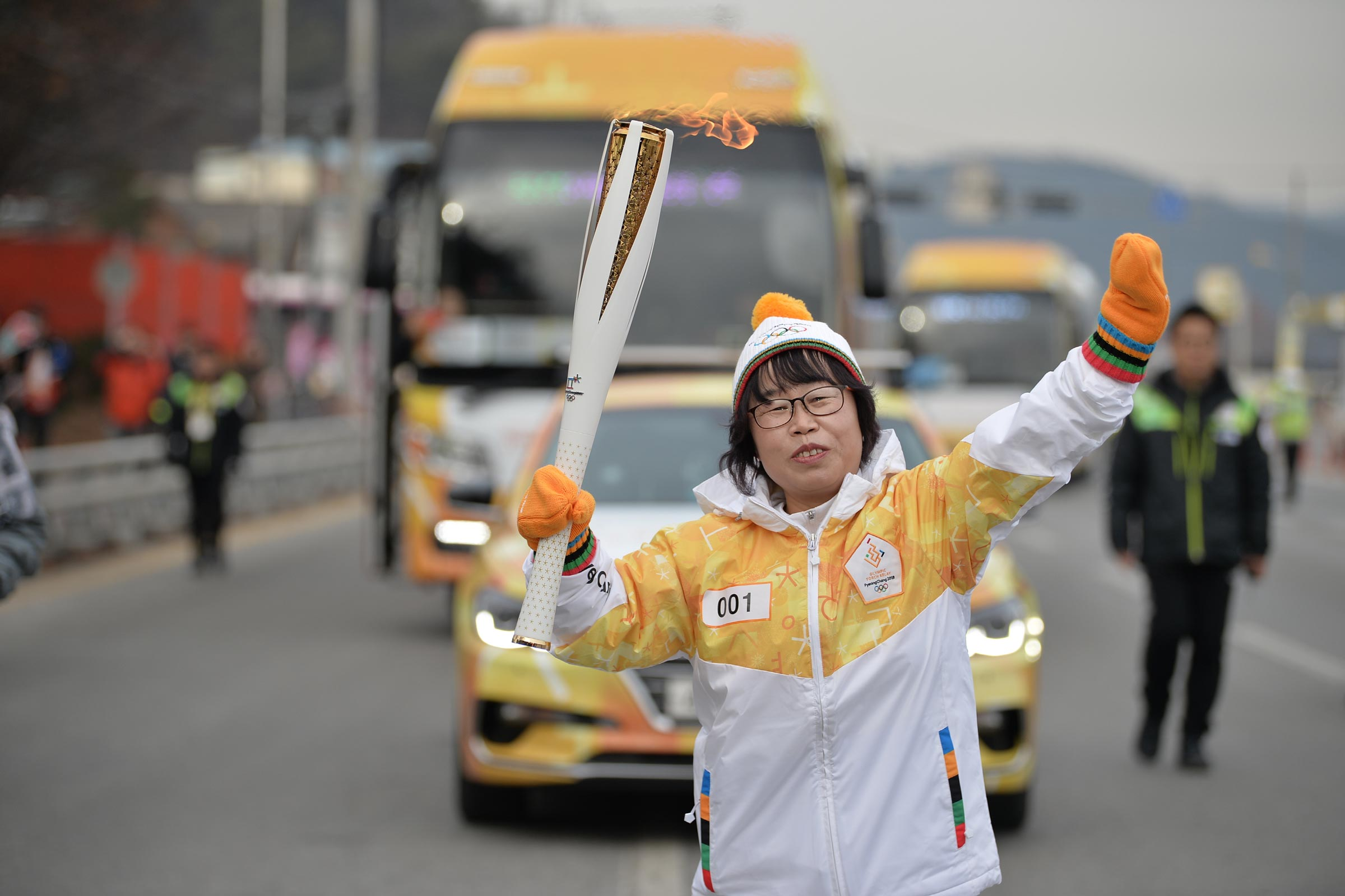PyeongChang 2018 Olympic Torch Relay - Day 44