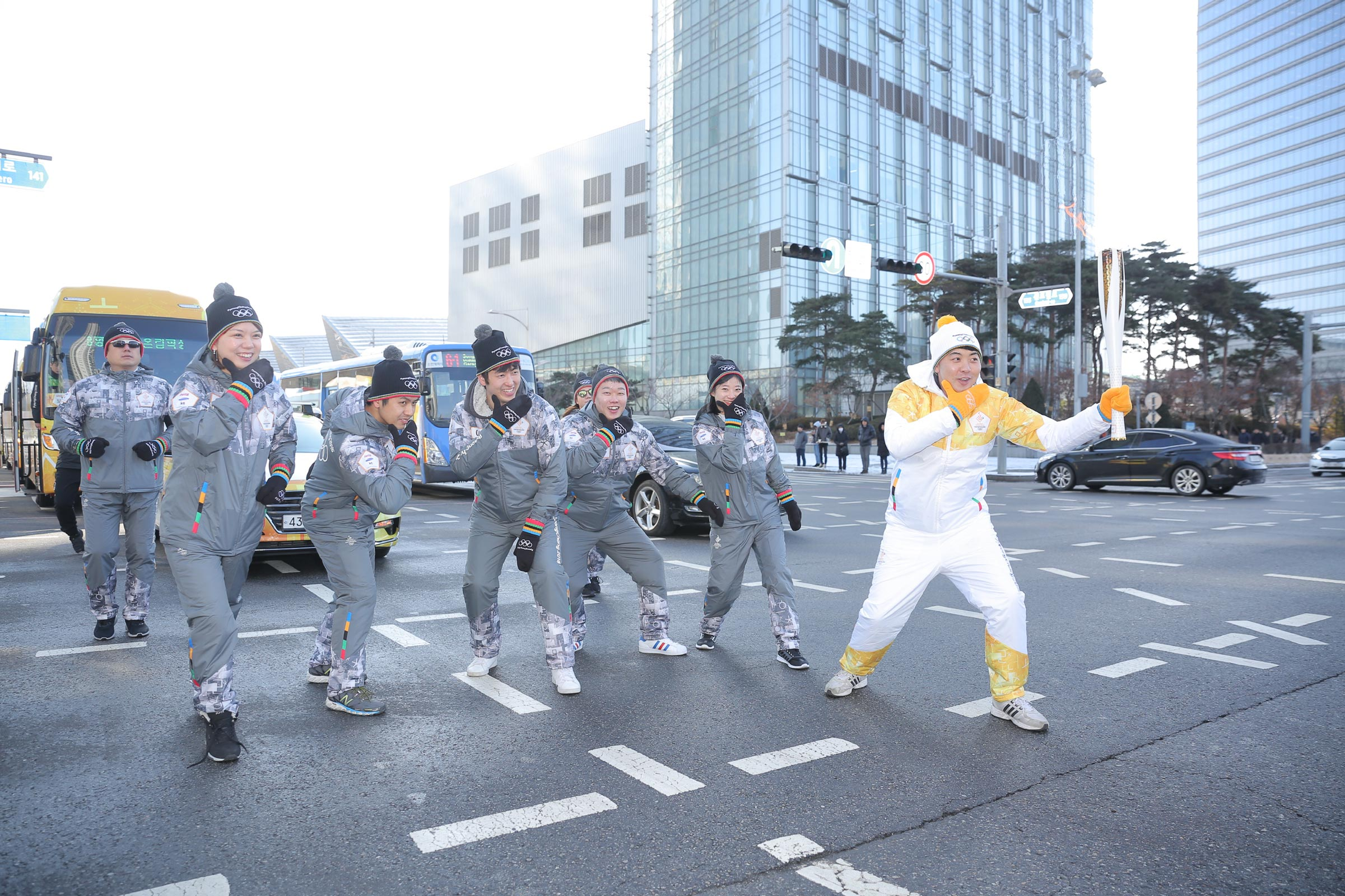PyeongChang 2018 Olympic Torch Relay - Day 71