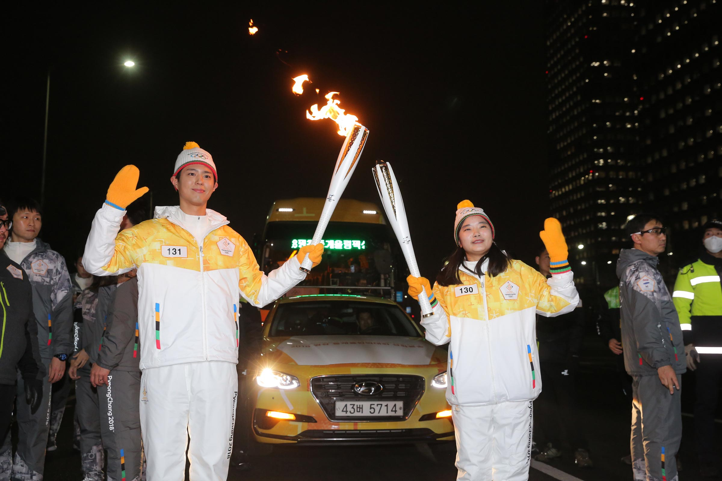 PyeongChang 2018 Olympic Torch Relay - Day 77