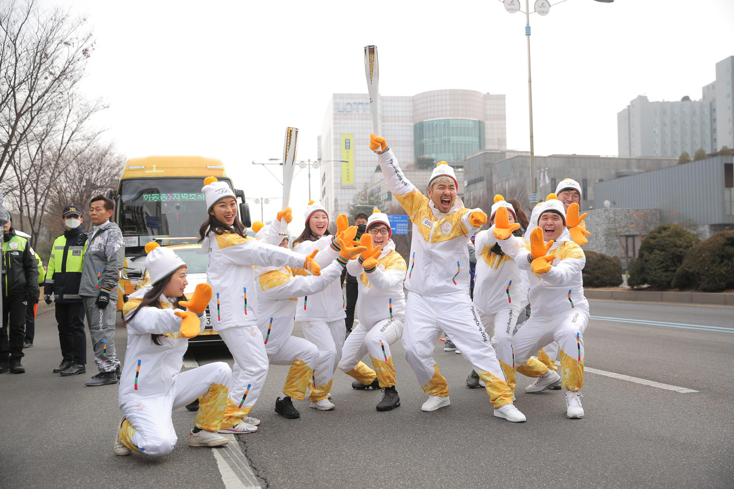 PyeongChang 2018 Olympic Torch Relay - Day 79