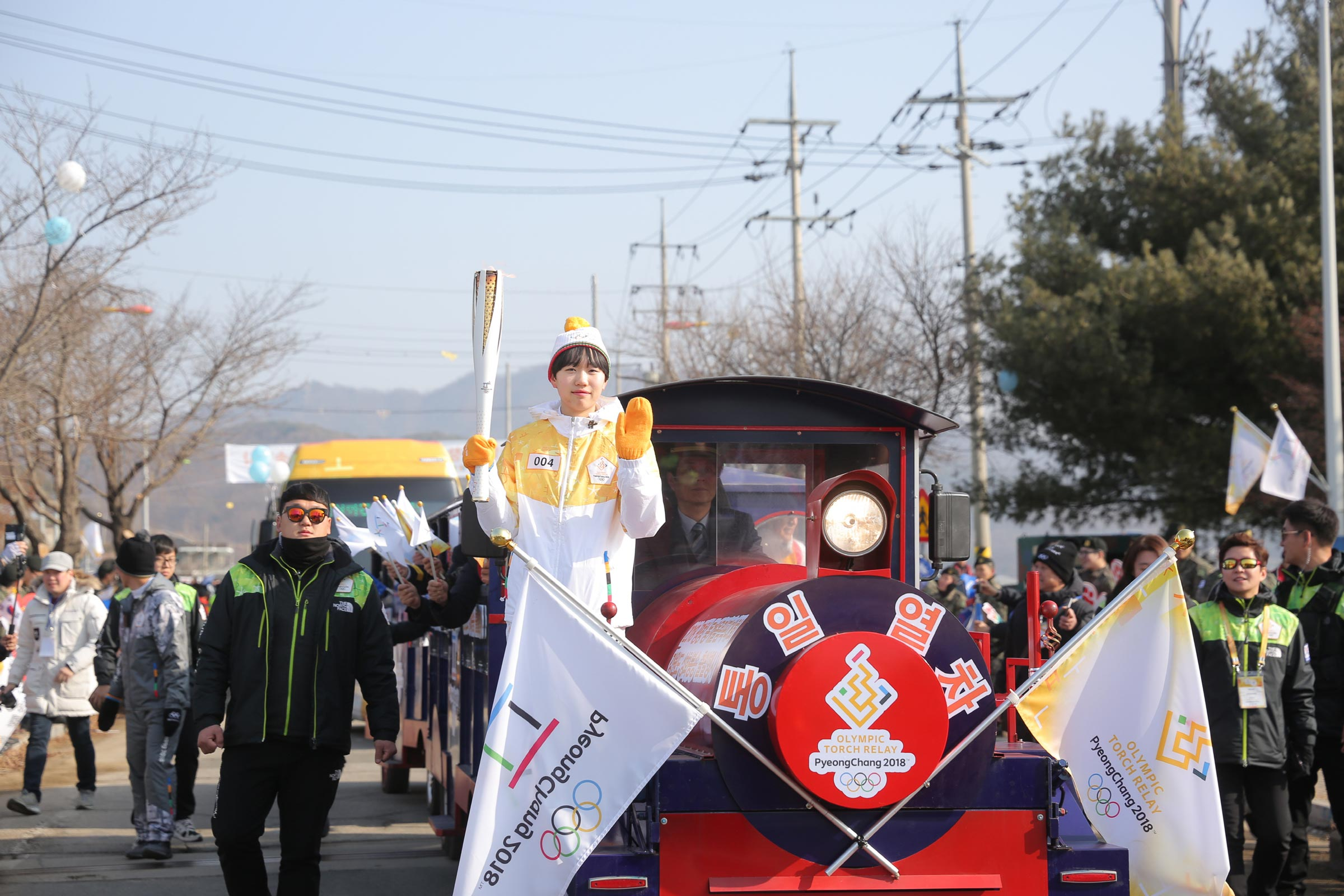 PyeongChang 2018 Olympic Torch Relay - Day 82