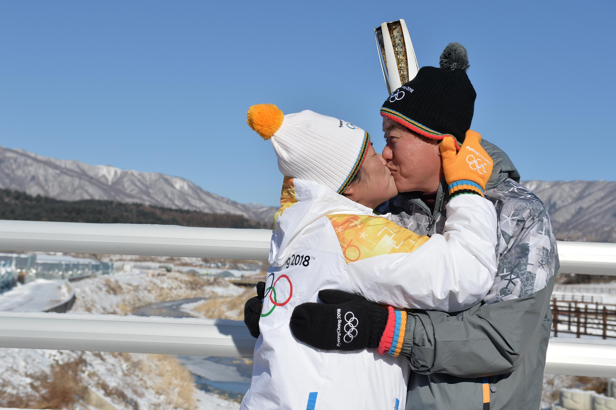 PyeongChang 2018 Olympic Torch Relay - Day 84