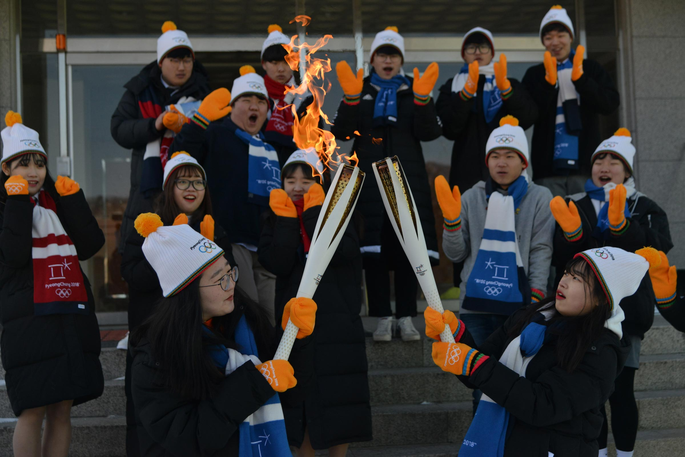 PyeongChang 2018 Olympic Torch Relay - Day 85